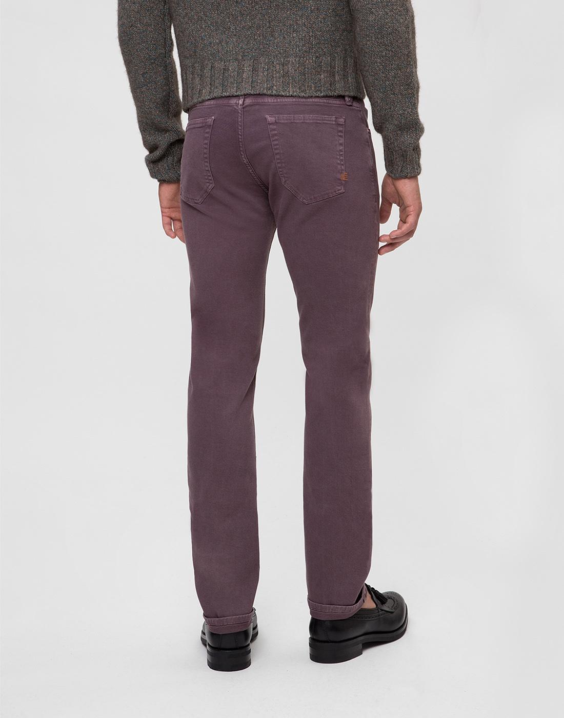 Мужские светло-фиолетовые джинсы PT SOA12 0786-4