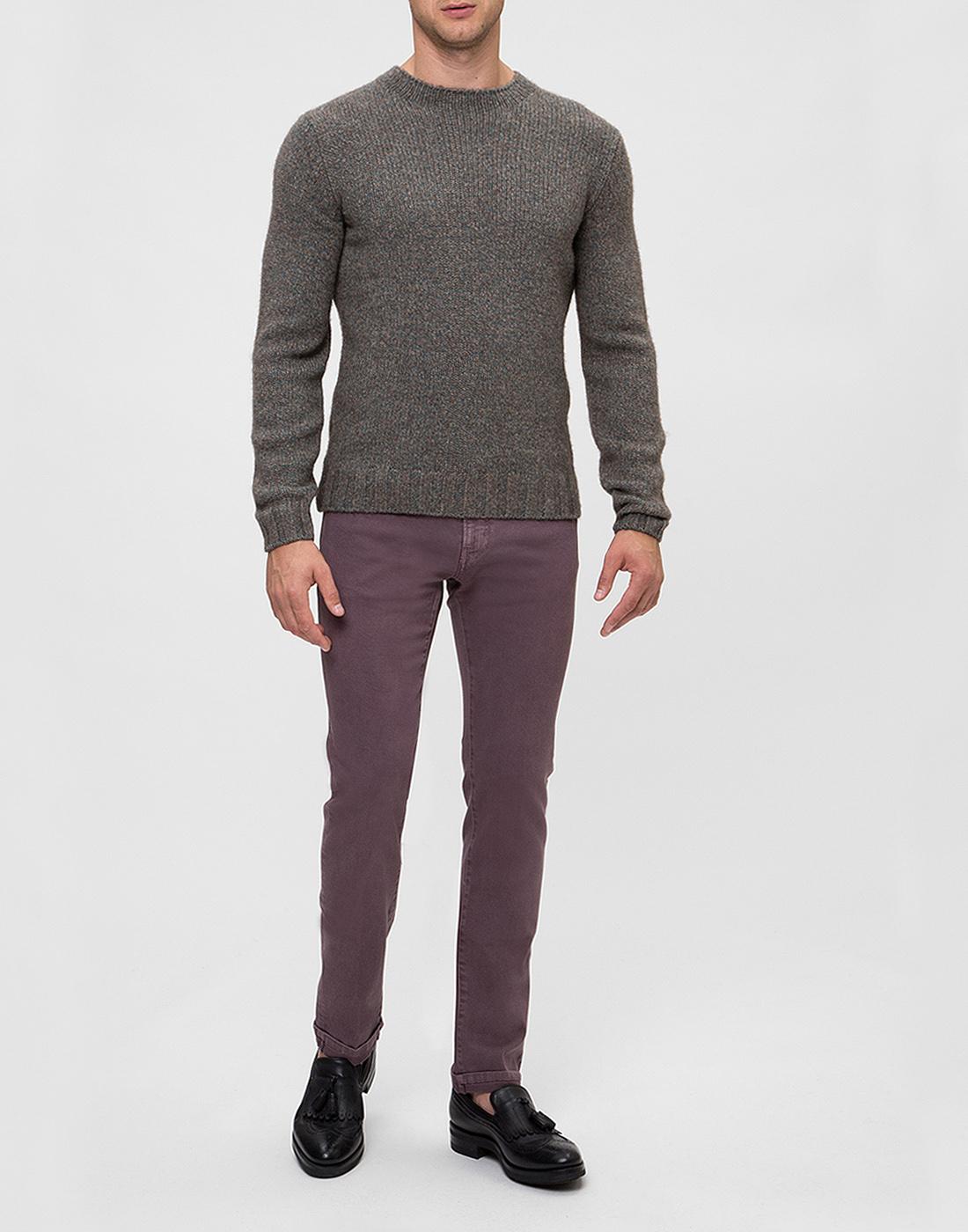 Мужские светло-фиолетовые джинсы PT SOA12 0786-5