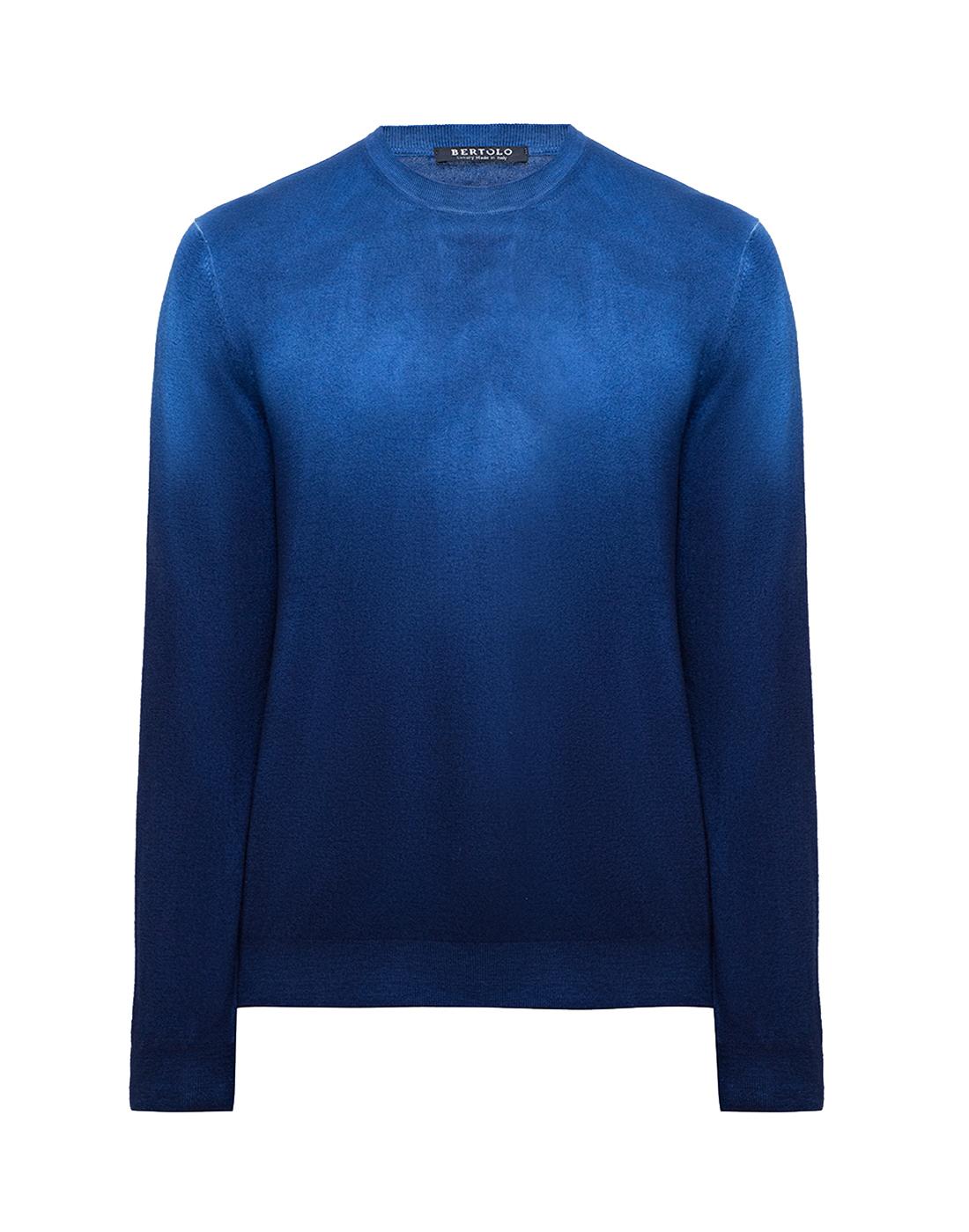 Мужской темно-синий джемпер  Bertolo S901638-1