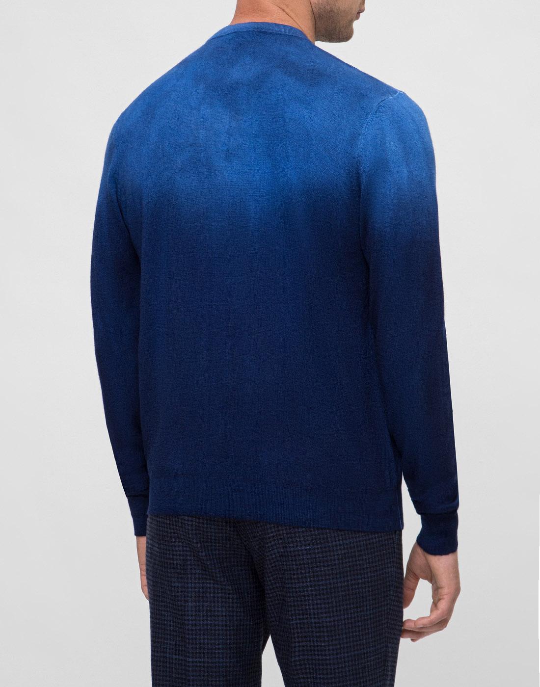 Мужской темно-синий джемпер  Bertolo S901638-4
