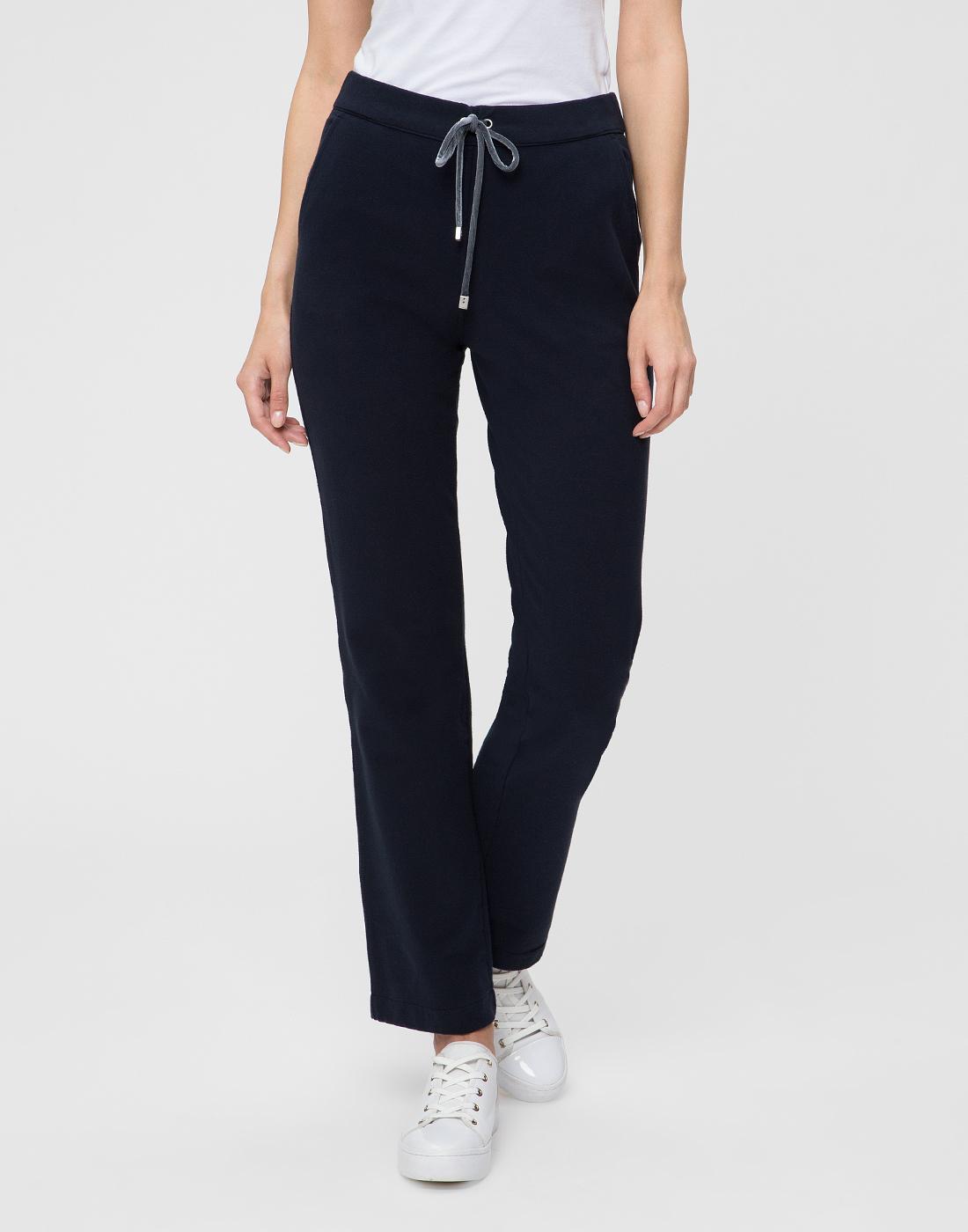 Женские темно-синие спортивные брюки Capobianco S5W715.FZ00.-2