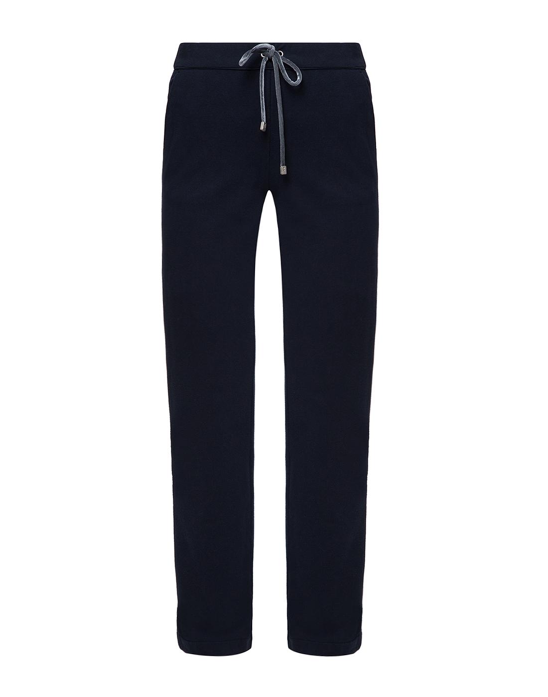 Женские темно-синие спортивные брюки Capobianco S5W715.FZ00.-1