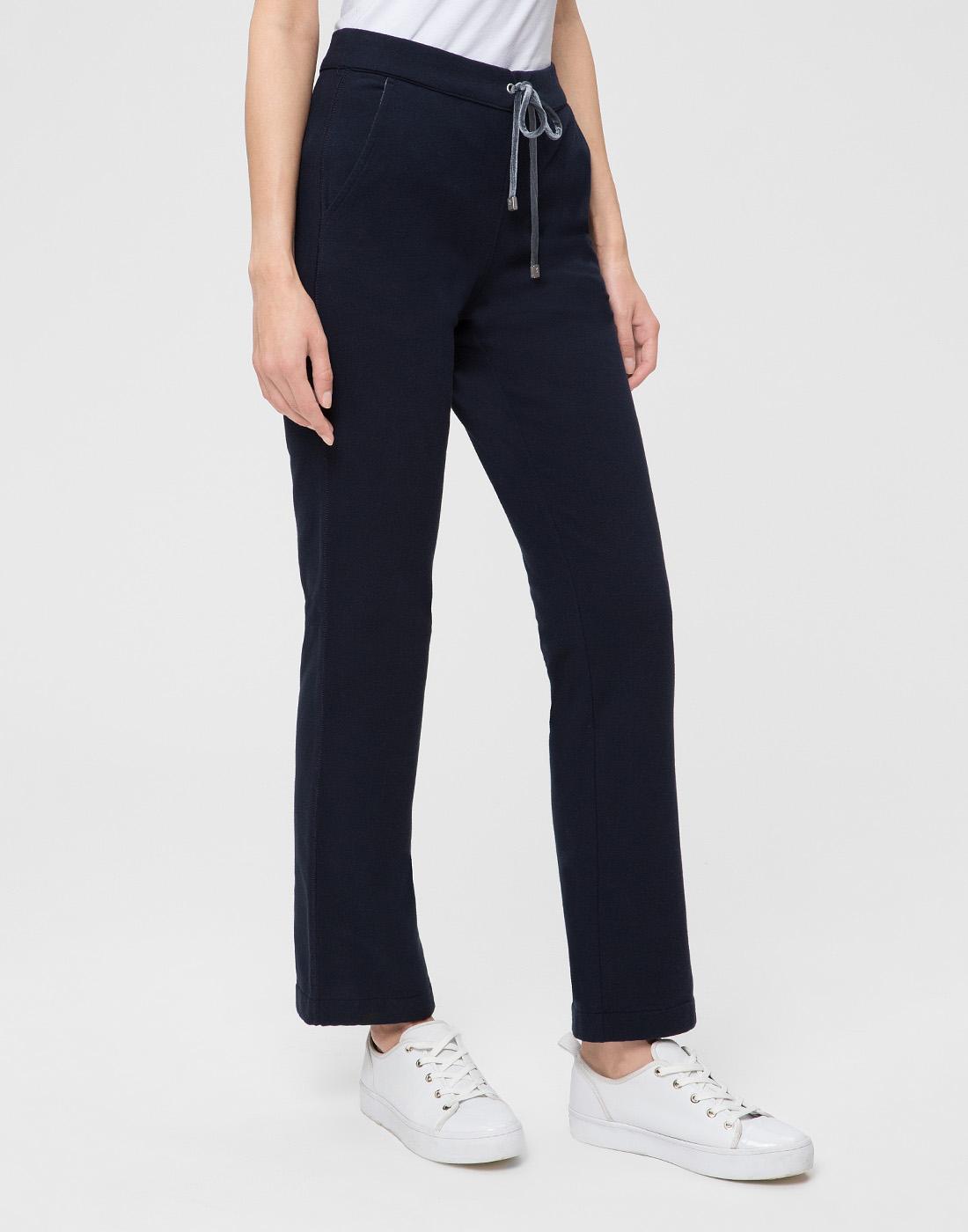 Женские темно-синие спортивные брюки Capobianco S5W715.FZ00.-3