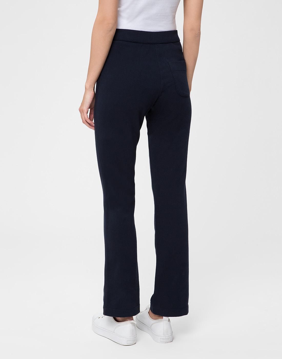 Женские темно-синие спортивные брюки Capobianco S5W715.FZ00.-4