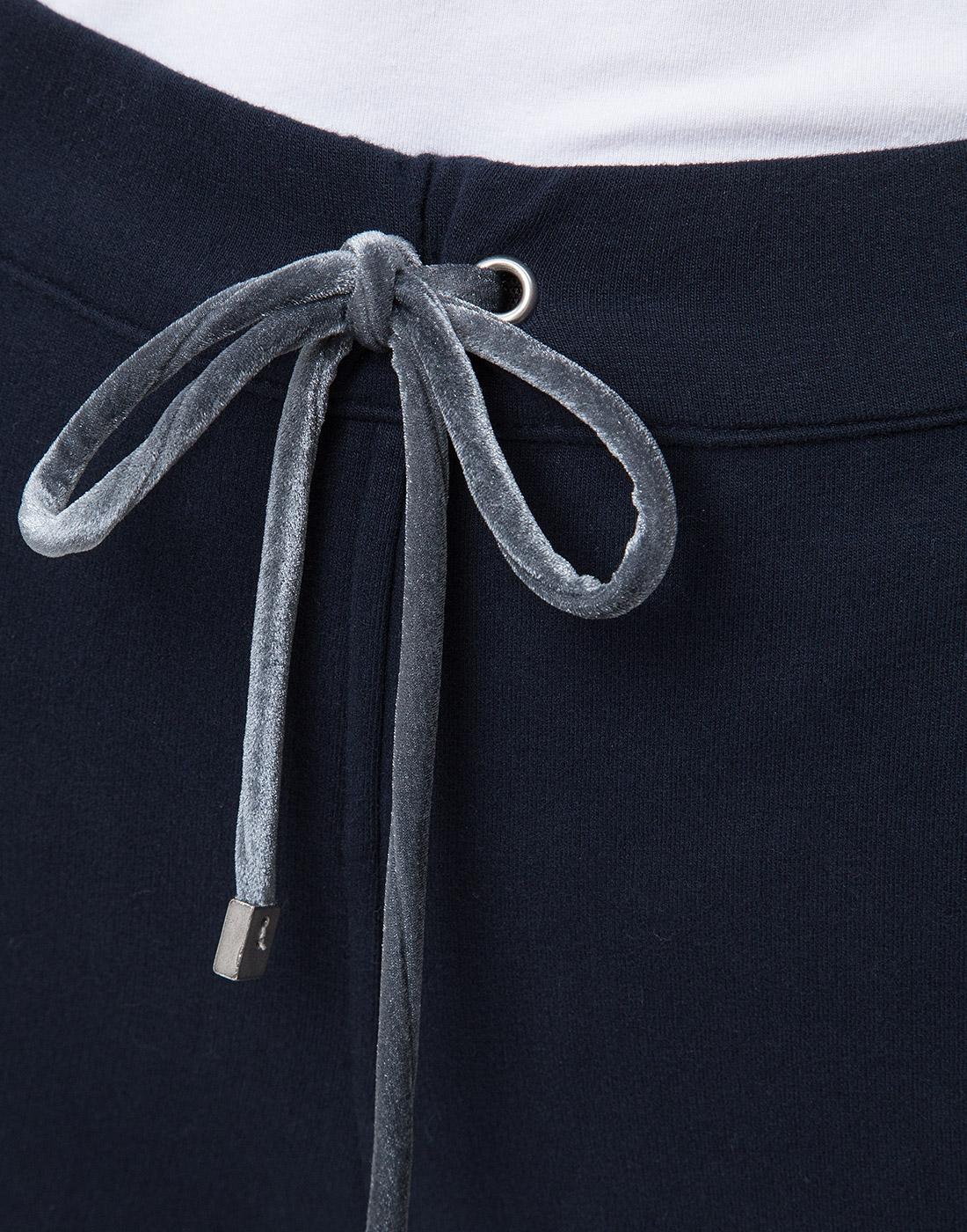 Женские темно-синие спортивные брюки Capobianco S5W715.FZ00.-6