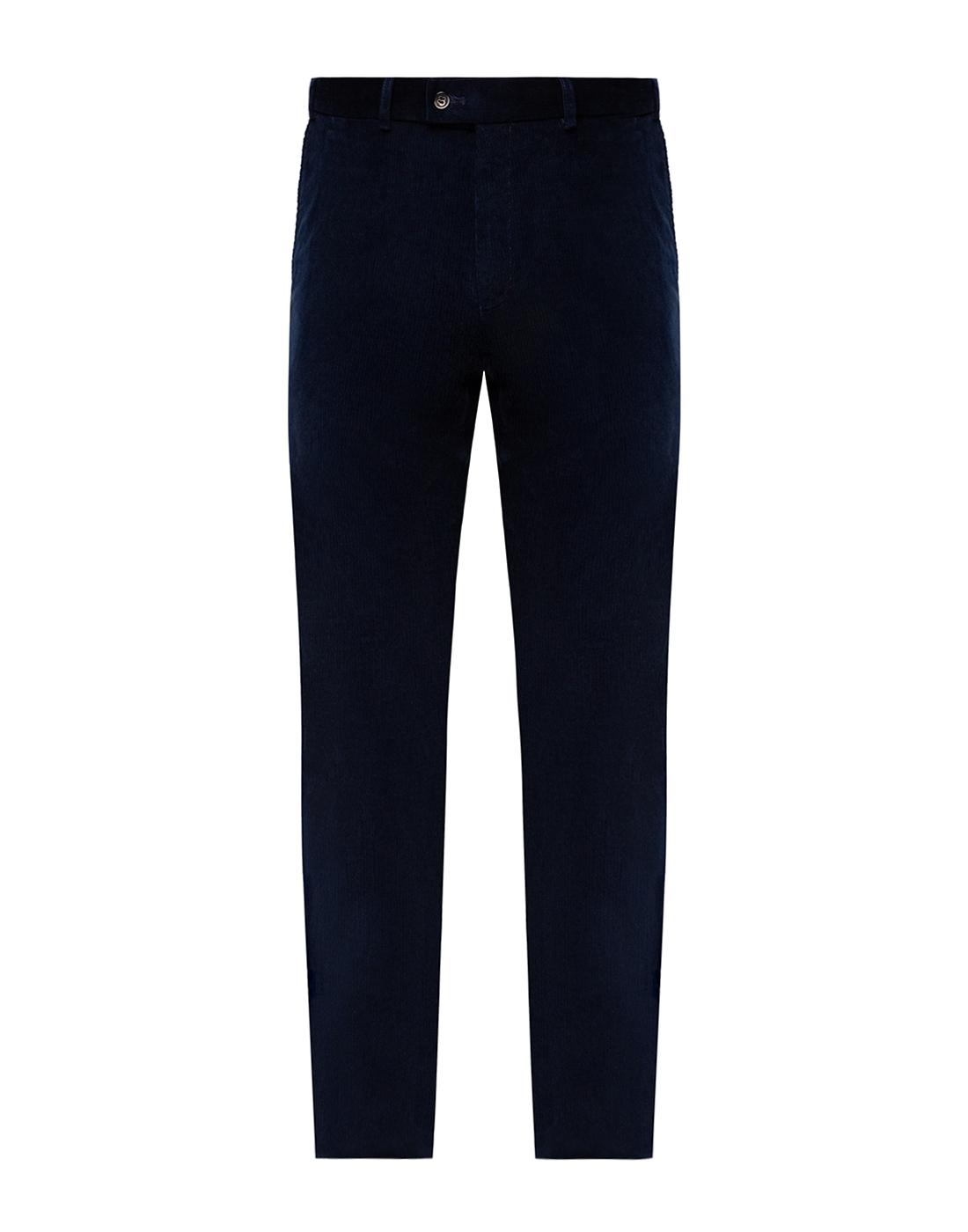 Мужские темно-синие вельветовые брюки Hiltl  S74818 43 71700-1