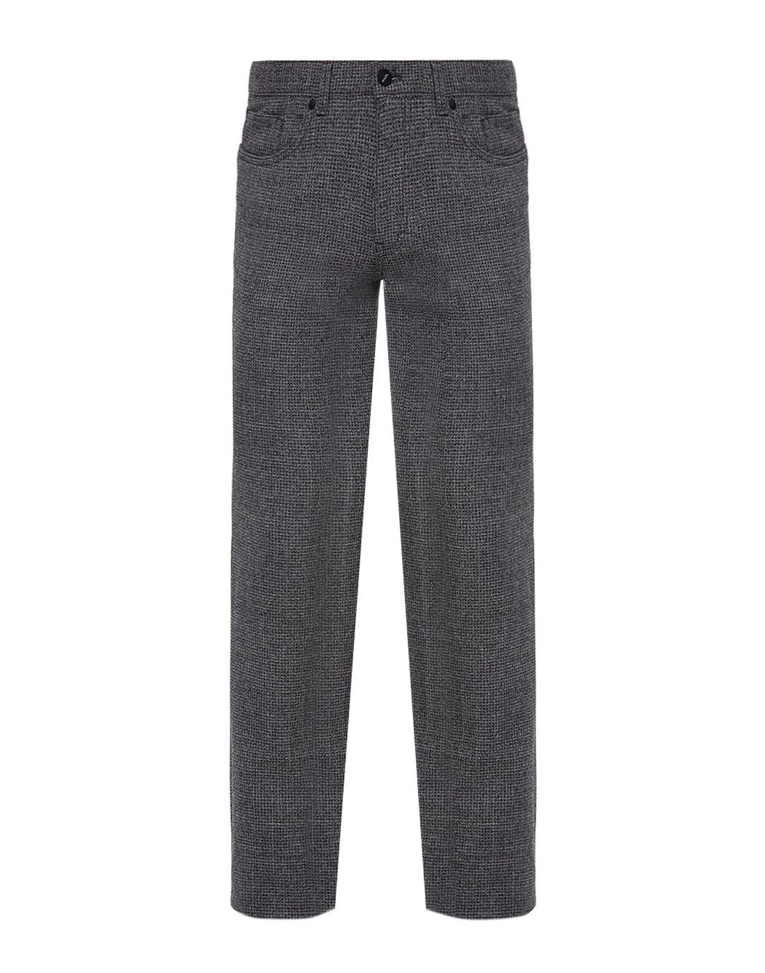 Мужские серые шерстяные брюки Hiltl  S12446 16 33580-1