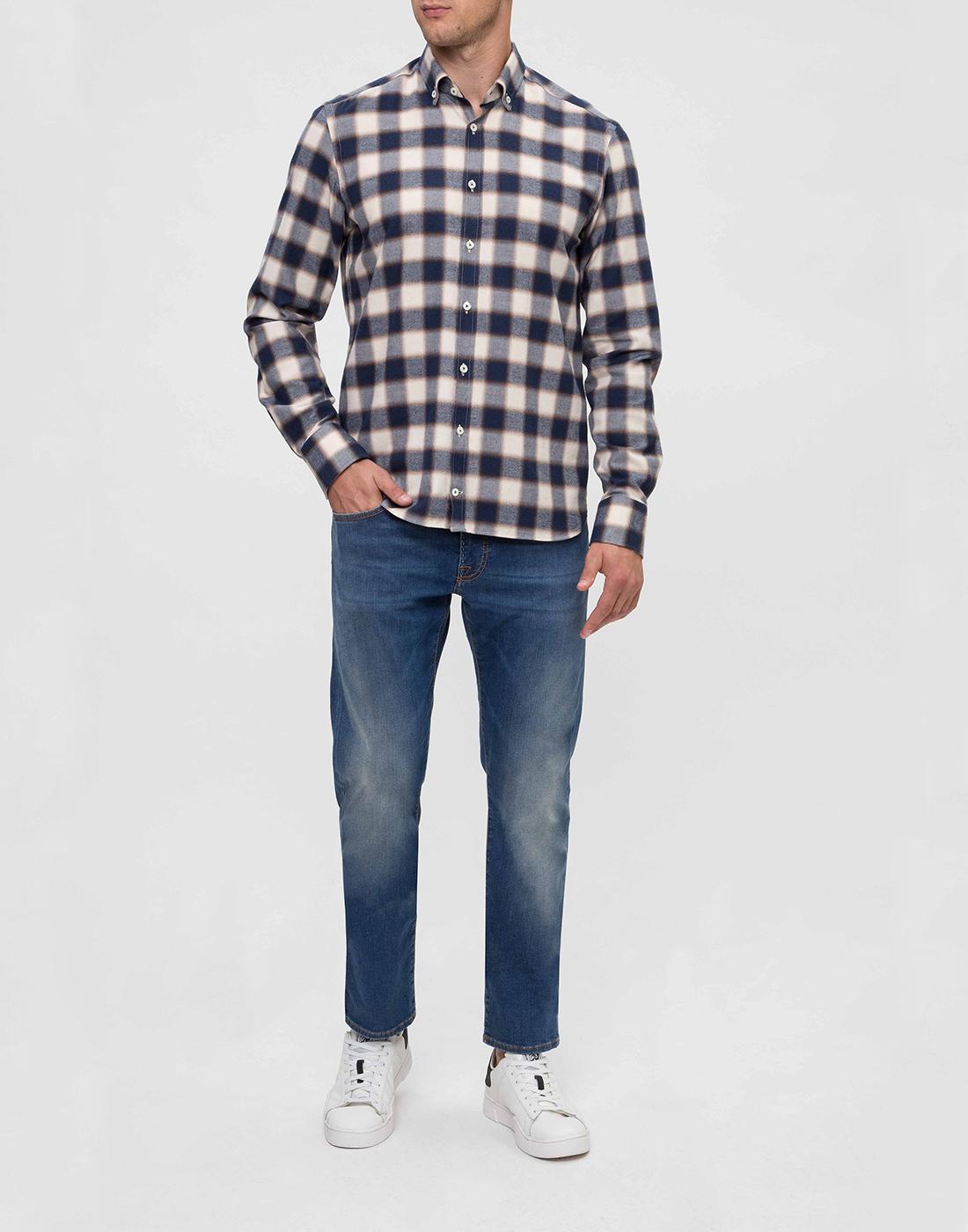 Мужские синие джинсы Tramarossa SD389-5