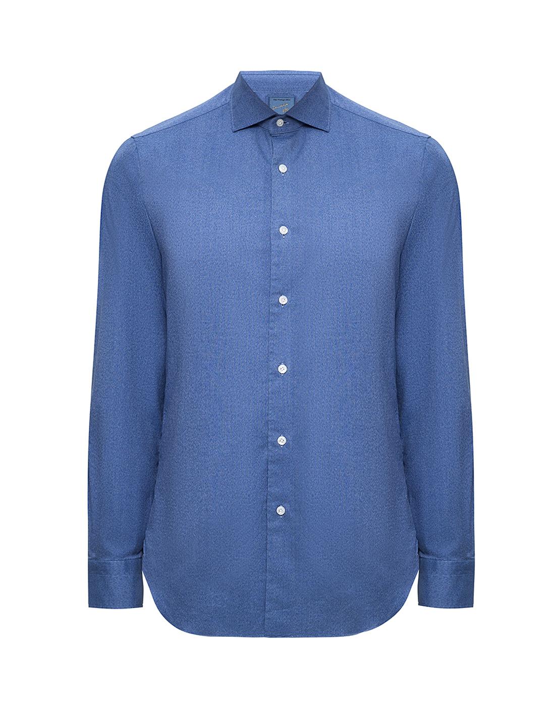 Мужская синяя рубашка Barba S554506U-1