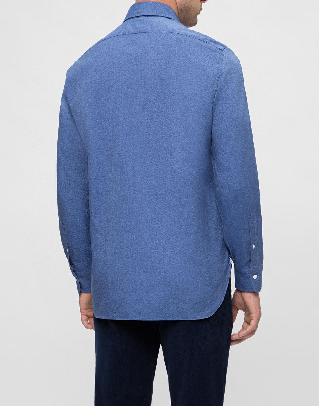 Мужская синяя рубашка Barba S554506U-4