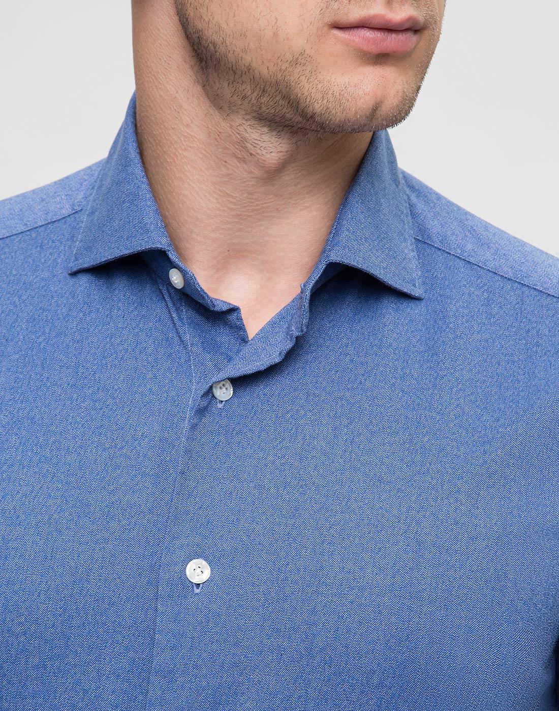 Мужская синяя рубашка Barba S554506U-6