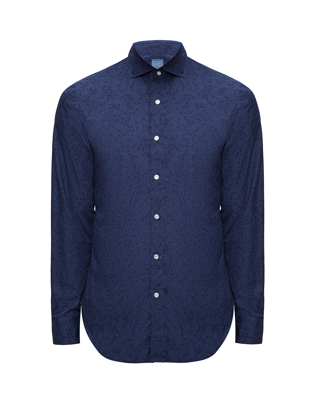Мужская синяя рубашка Barba S554801U-1
