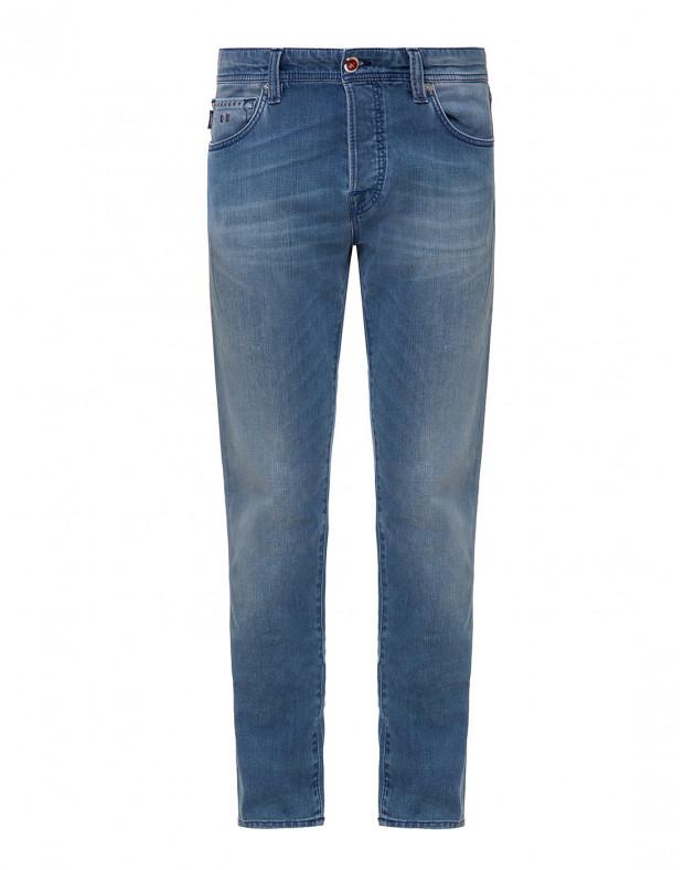 Мужские синие джинсы LEO