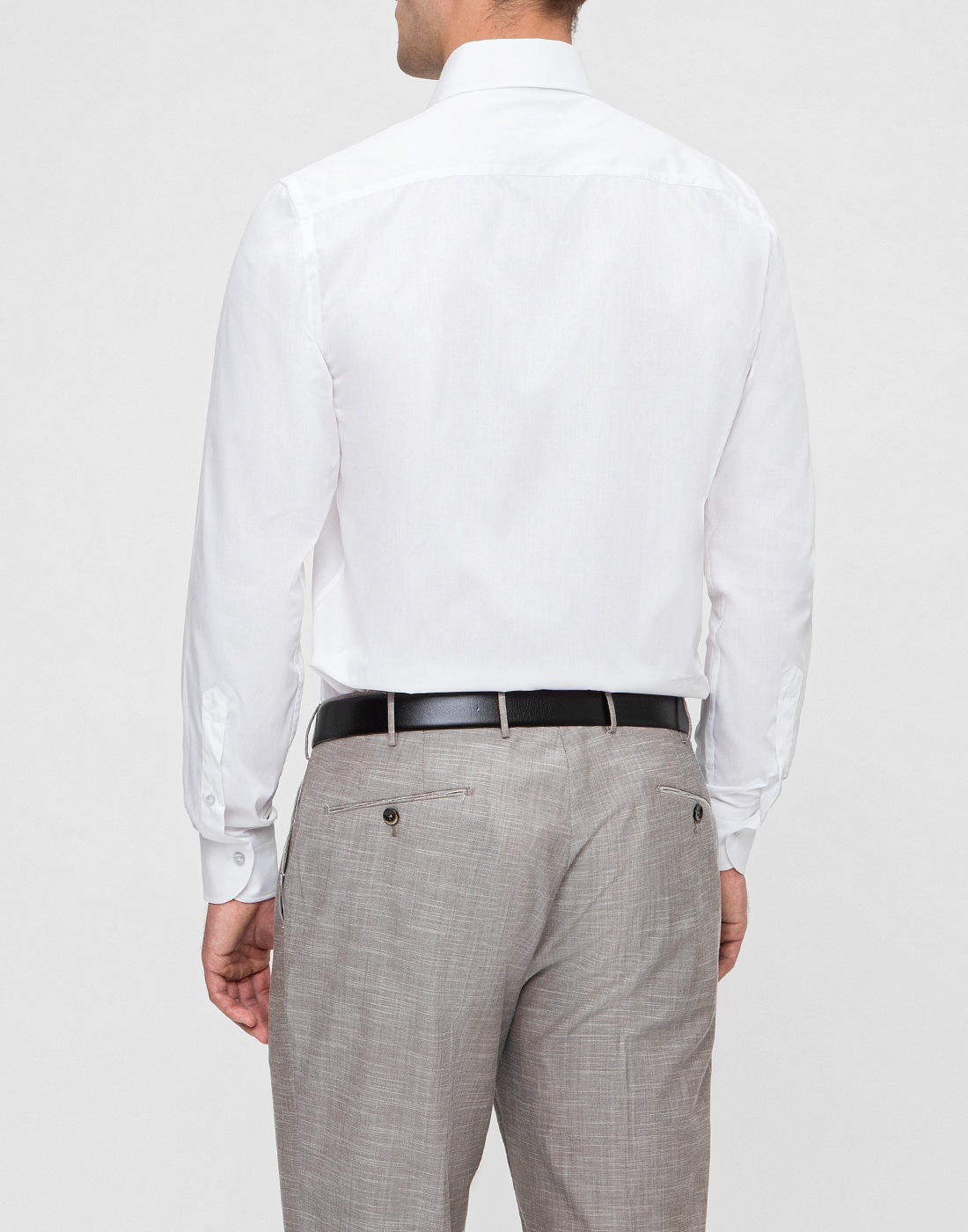 Мужская белая рубашка Profuomo SPPQH1C1002-4
