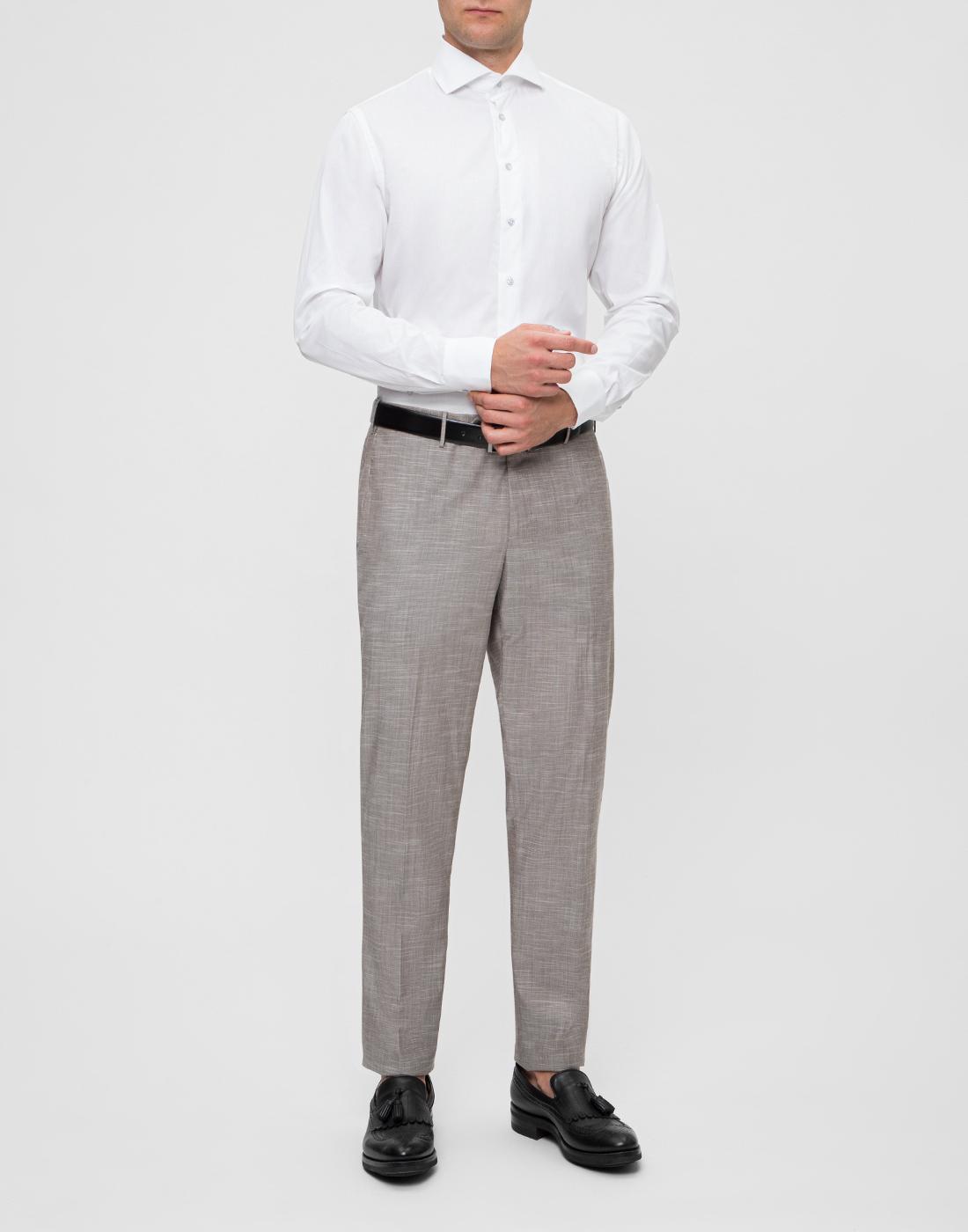 Мужская белая рубашка Profuomo SPPQH1C1002-5