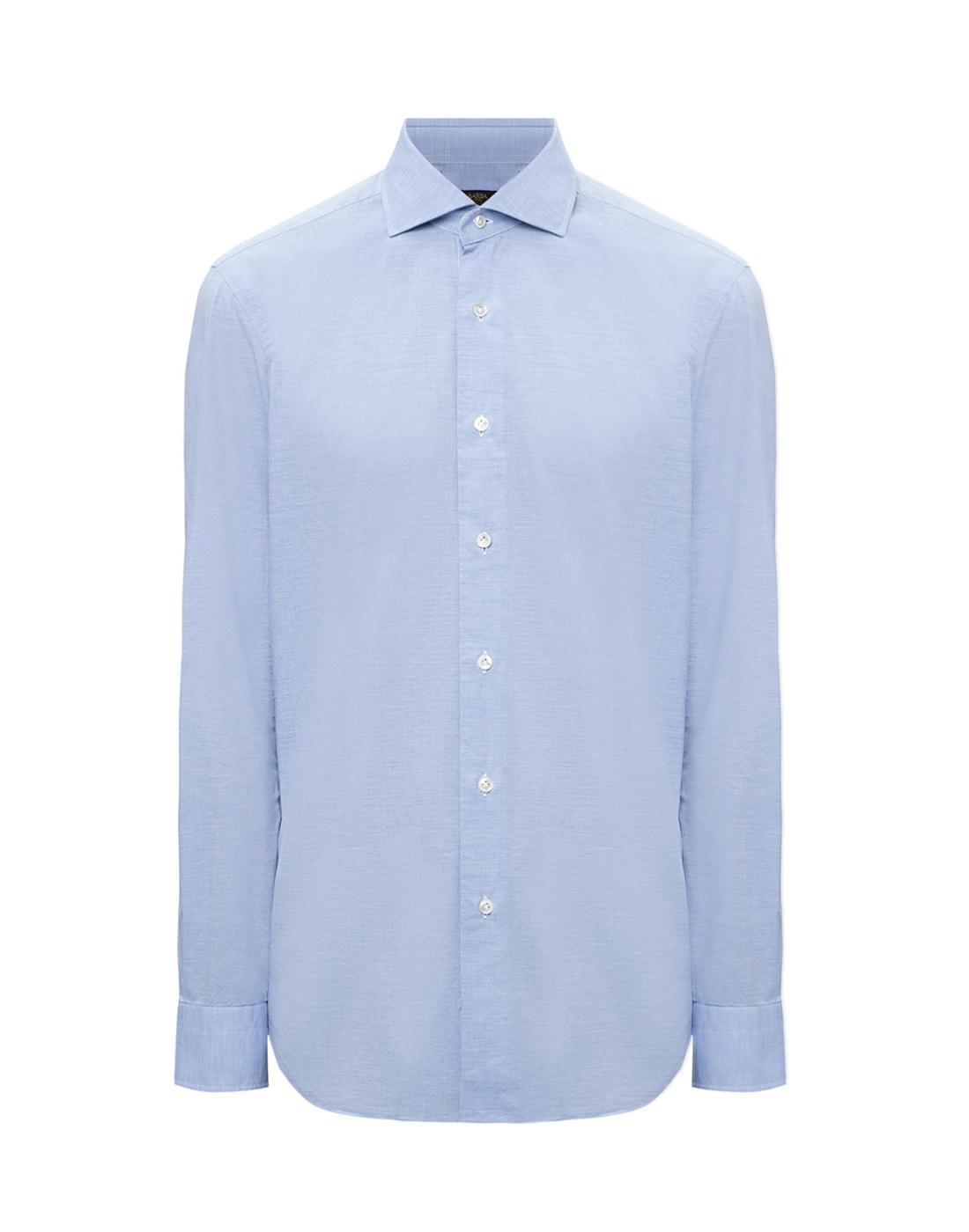 Мужская голубая рубашка Barba SK4U132597401U-1