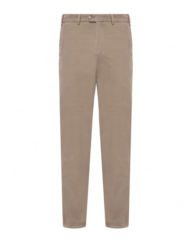 Мужские бежевые вельветовые брюки