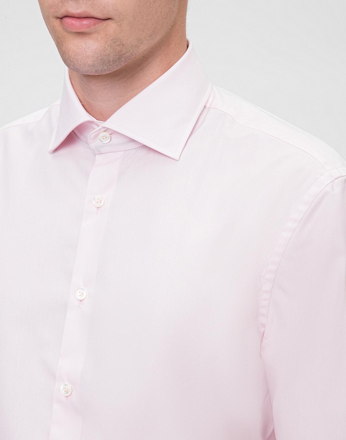 Мужская розовая рубашка