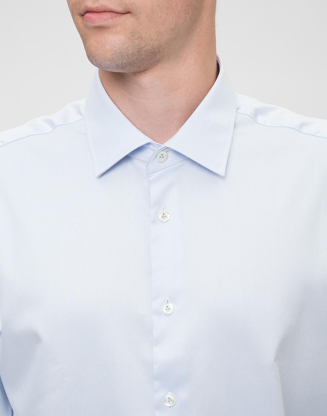 Мужская голубая рубашка Van Laack S130148/710-6