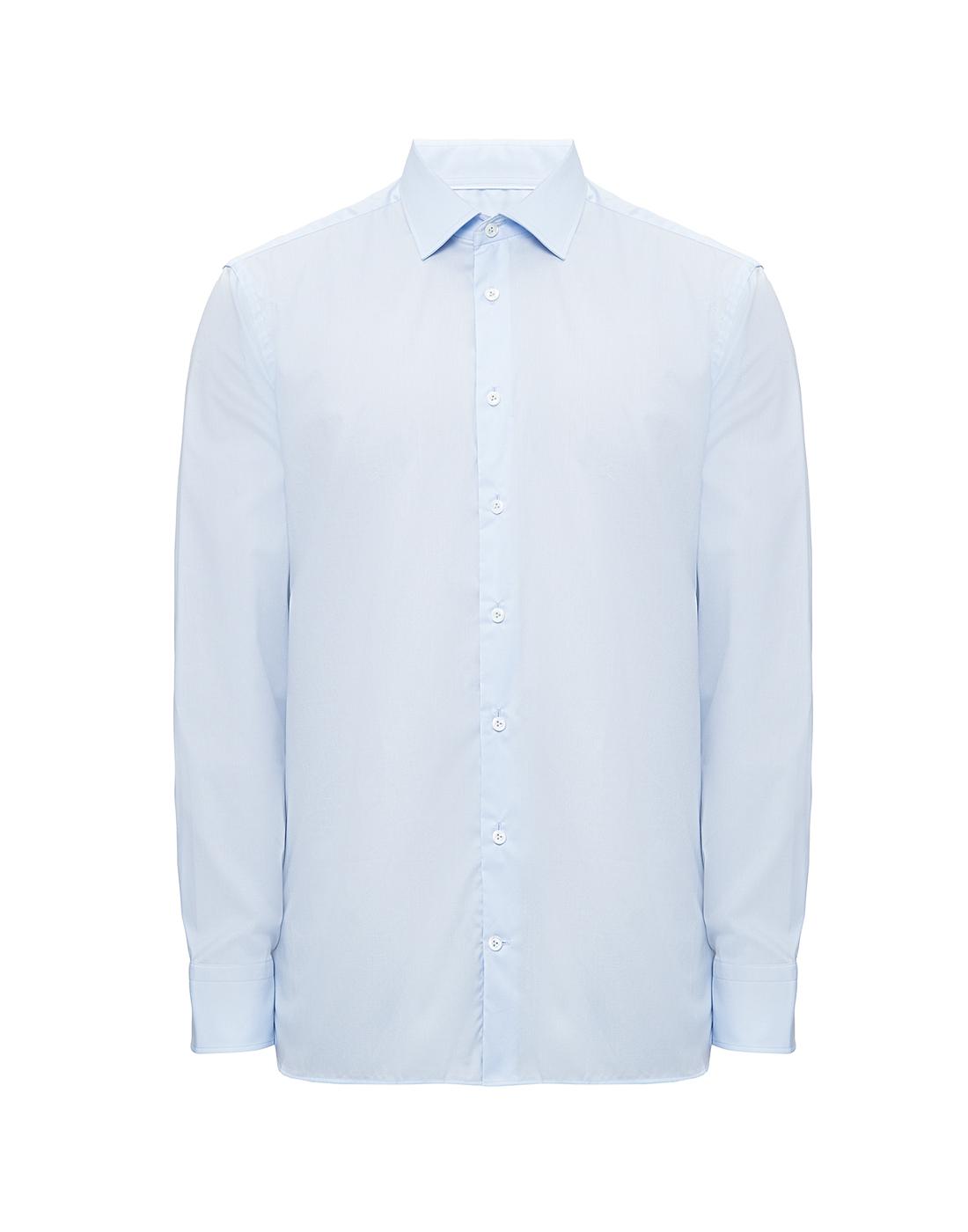 Мужская голубая рубашка Van Laack S150018/720-1