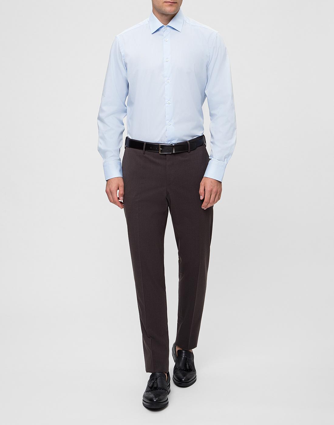 Мужская голубая рубашка Van Laack S150018/720-5