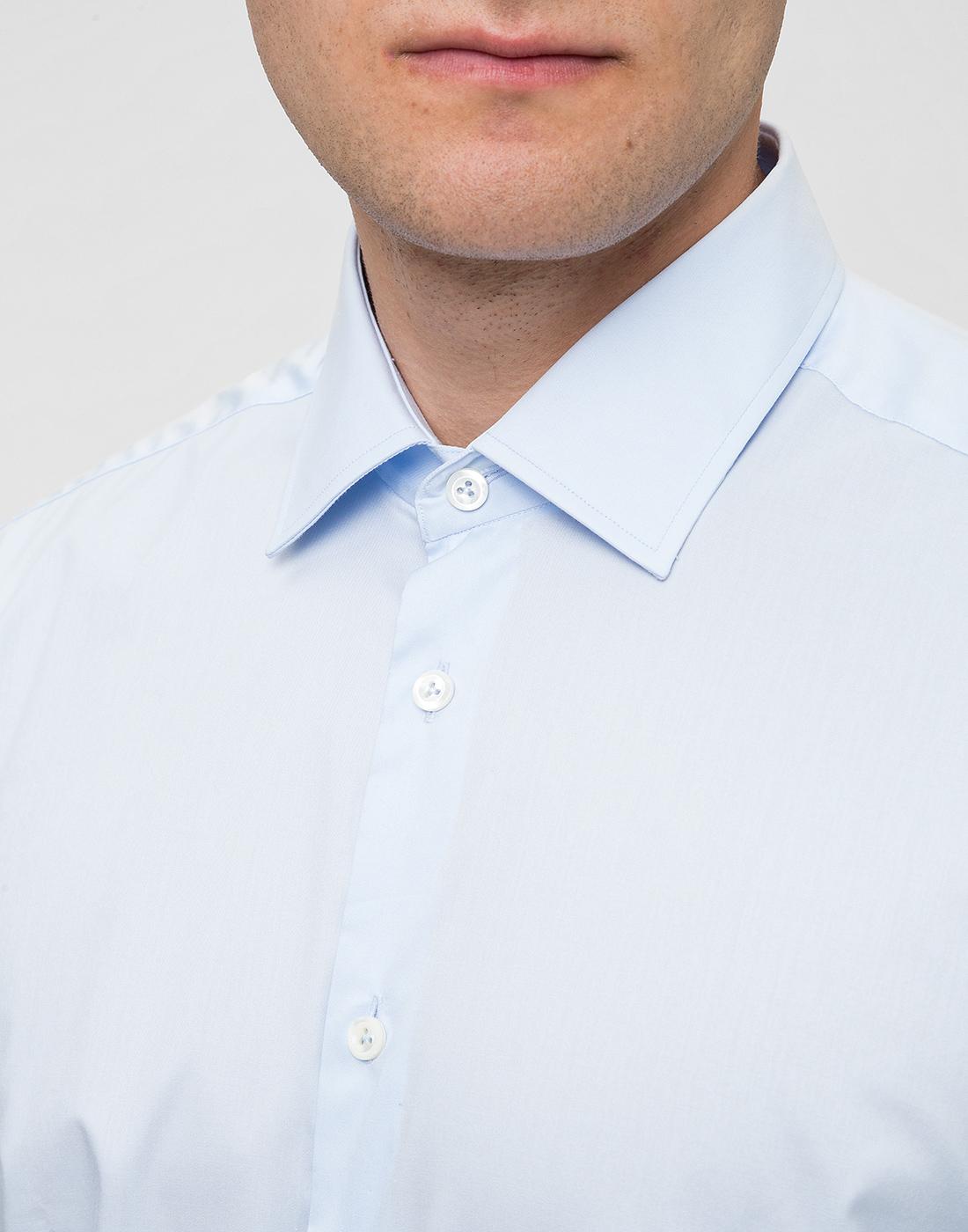 Мужская голубая рубашка Van Laack S150018/720-6