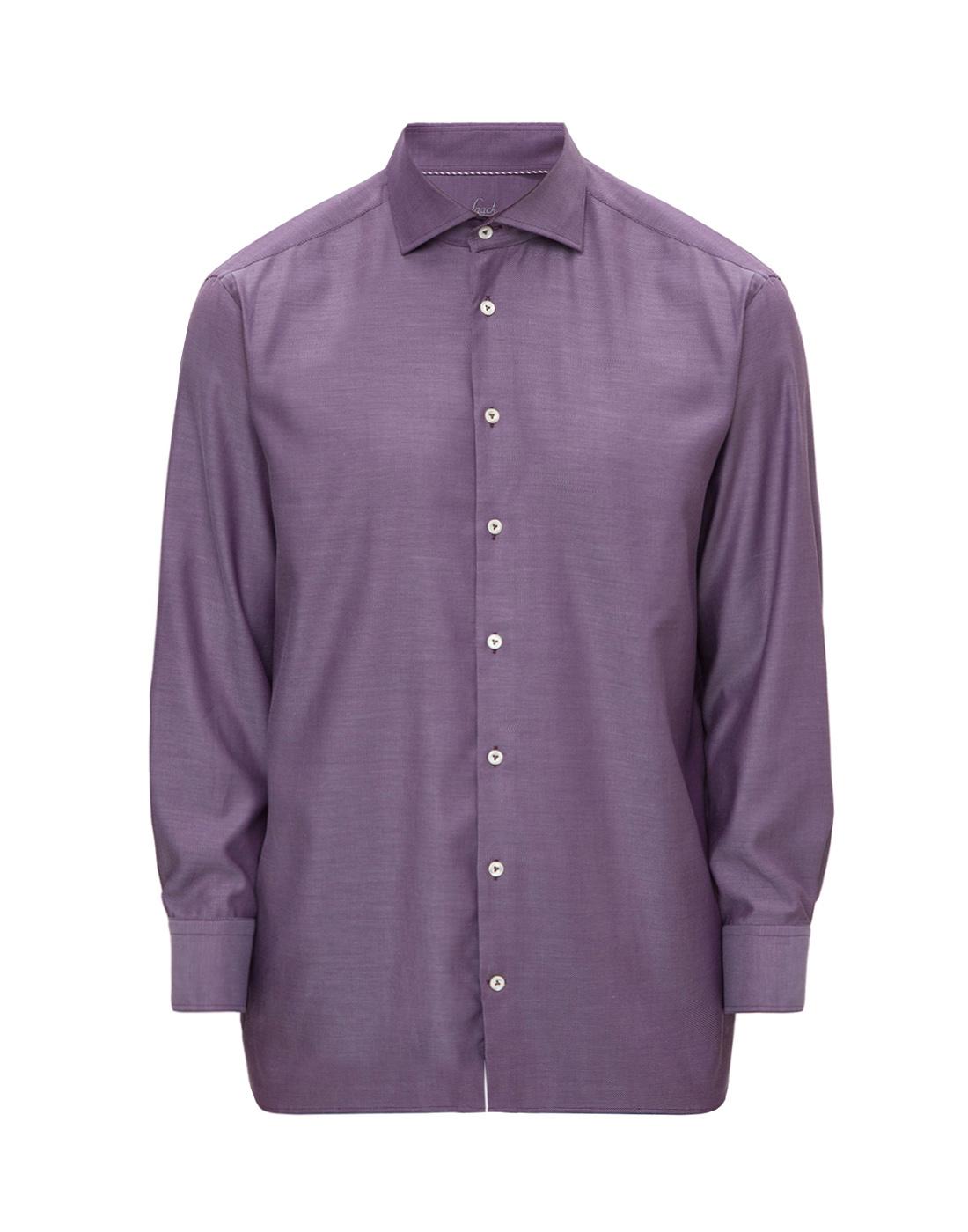 Мужская сиреневая рубашка Van Laack S151377/670-1