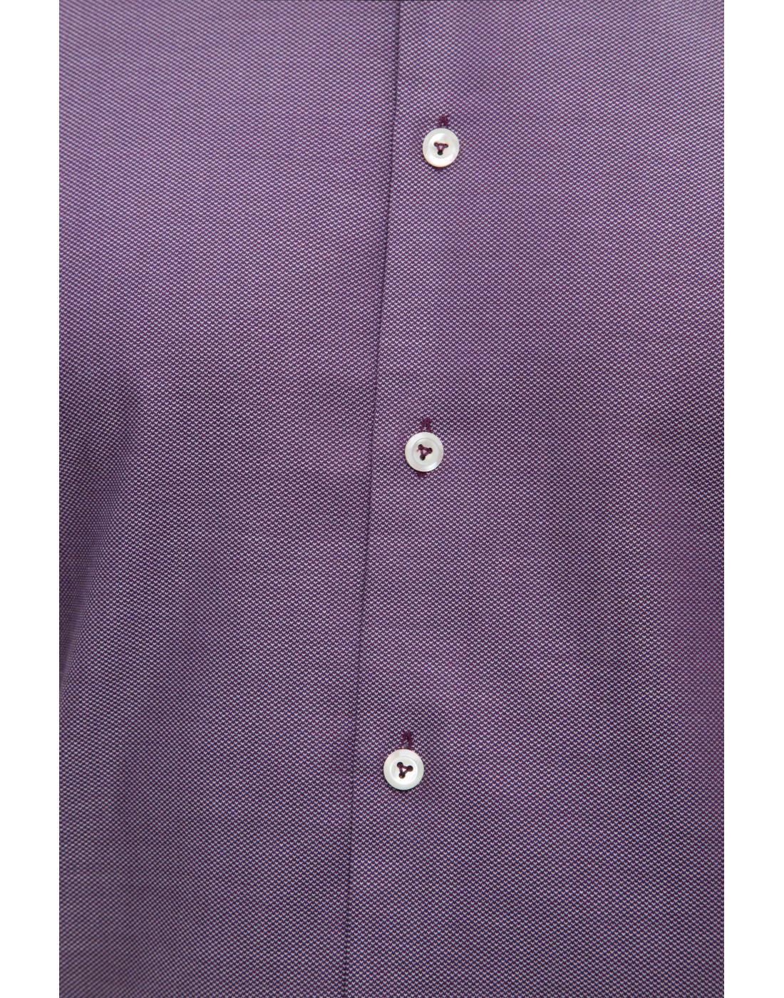 Мужская сиреневая рубашка Van Laack S151377/670-6