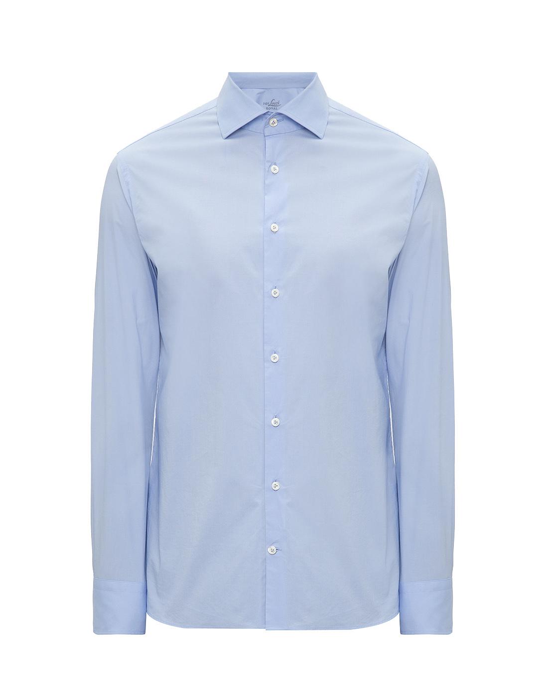Мужская голубая рубашка Van Laack S130090/720-1