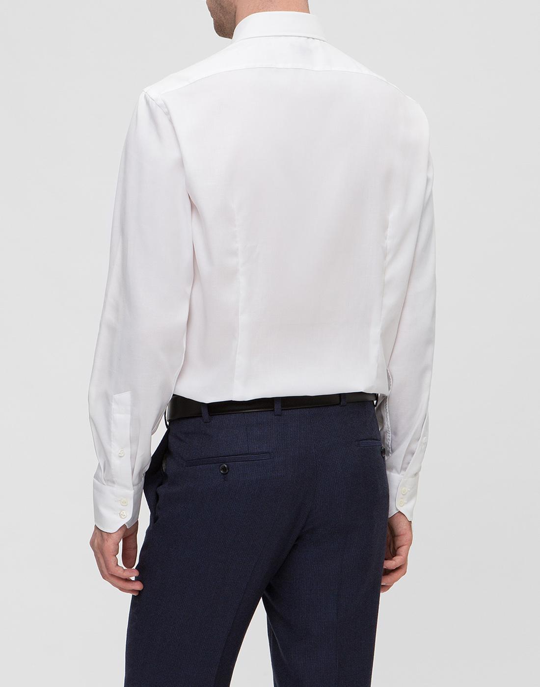 Мужская белая рубашка Van Laack S150021/000-4