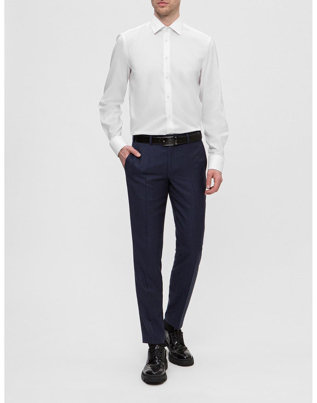 Мужская белая рубашка Van Laack S150021/000-5