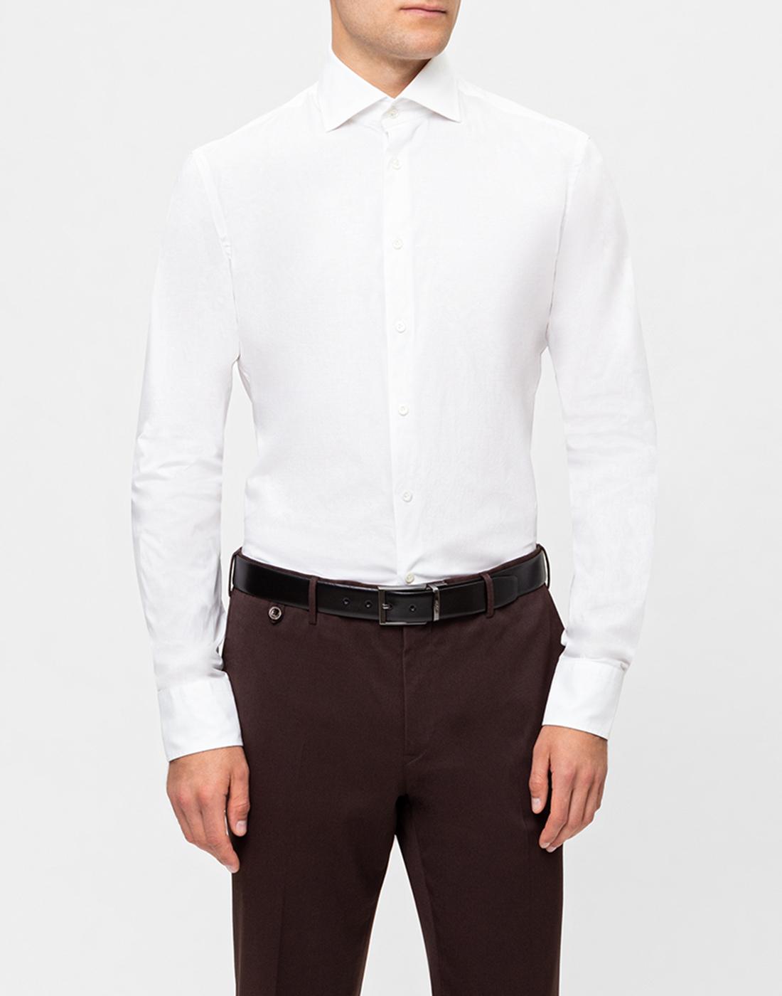 Мужская белая рубашка Van Laack S130090/000-2