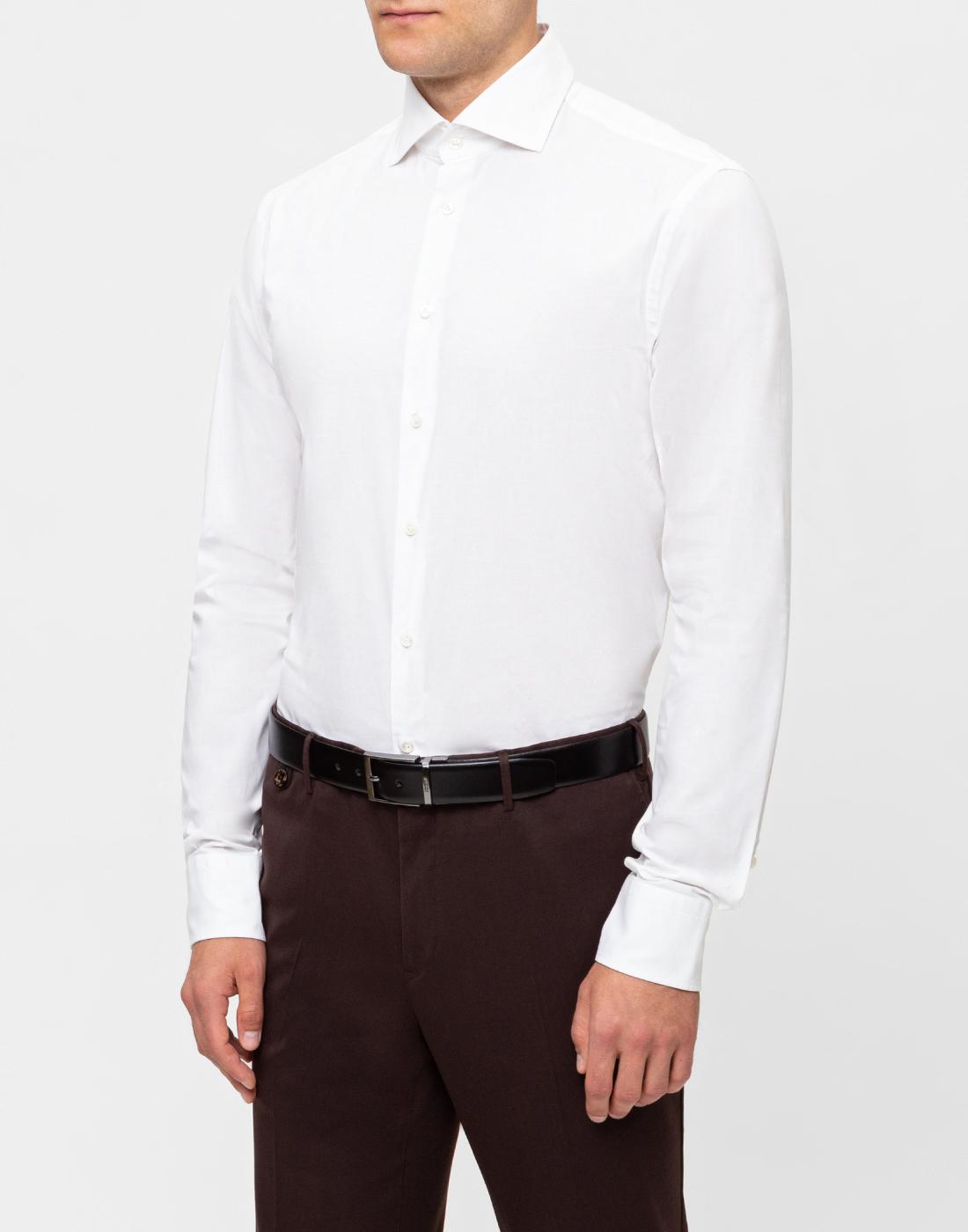 Мужская белая рубашка Van Laack S130090/000-3
