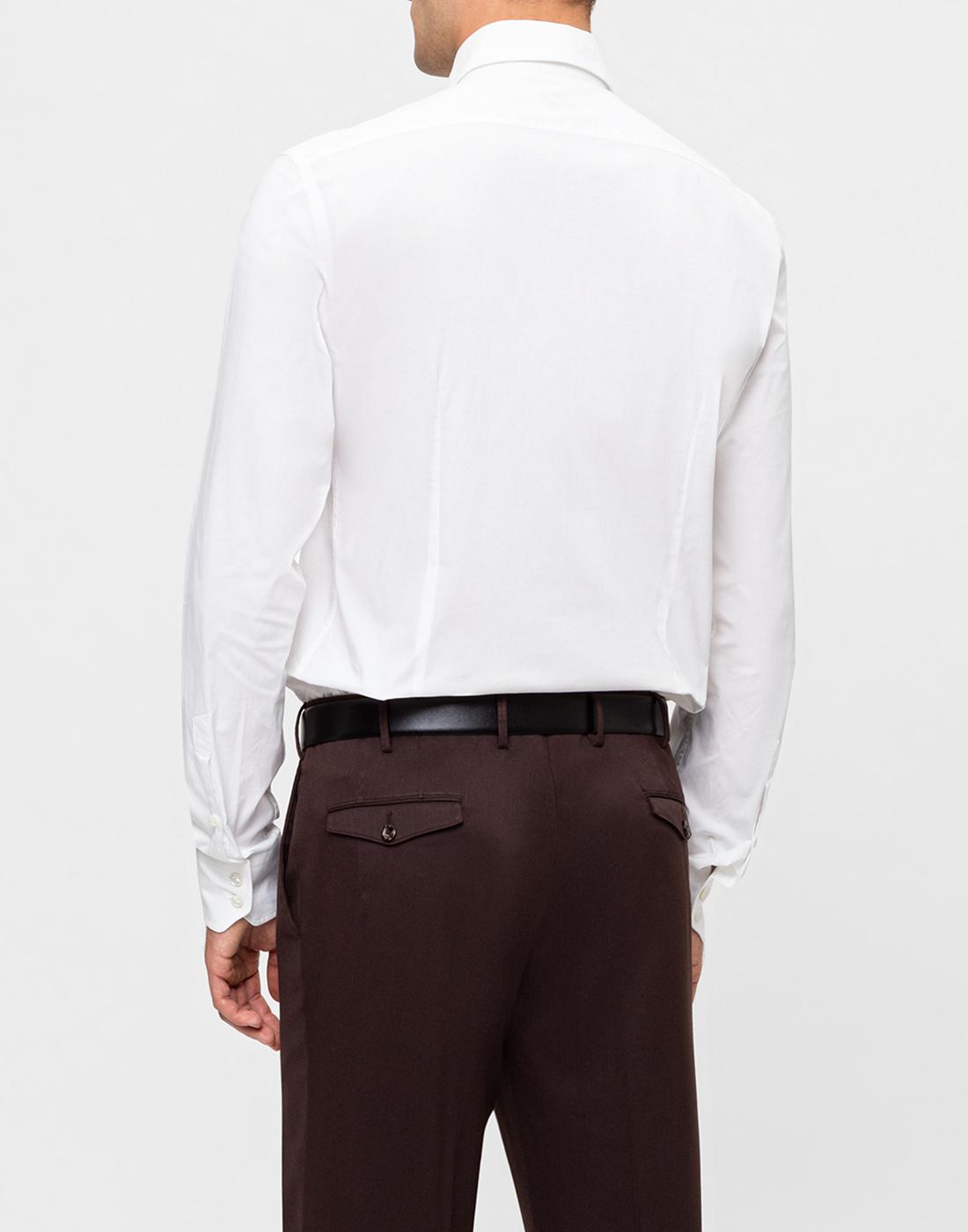 Мужская белая рубашка Van Laack S130090/000-4