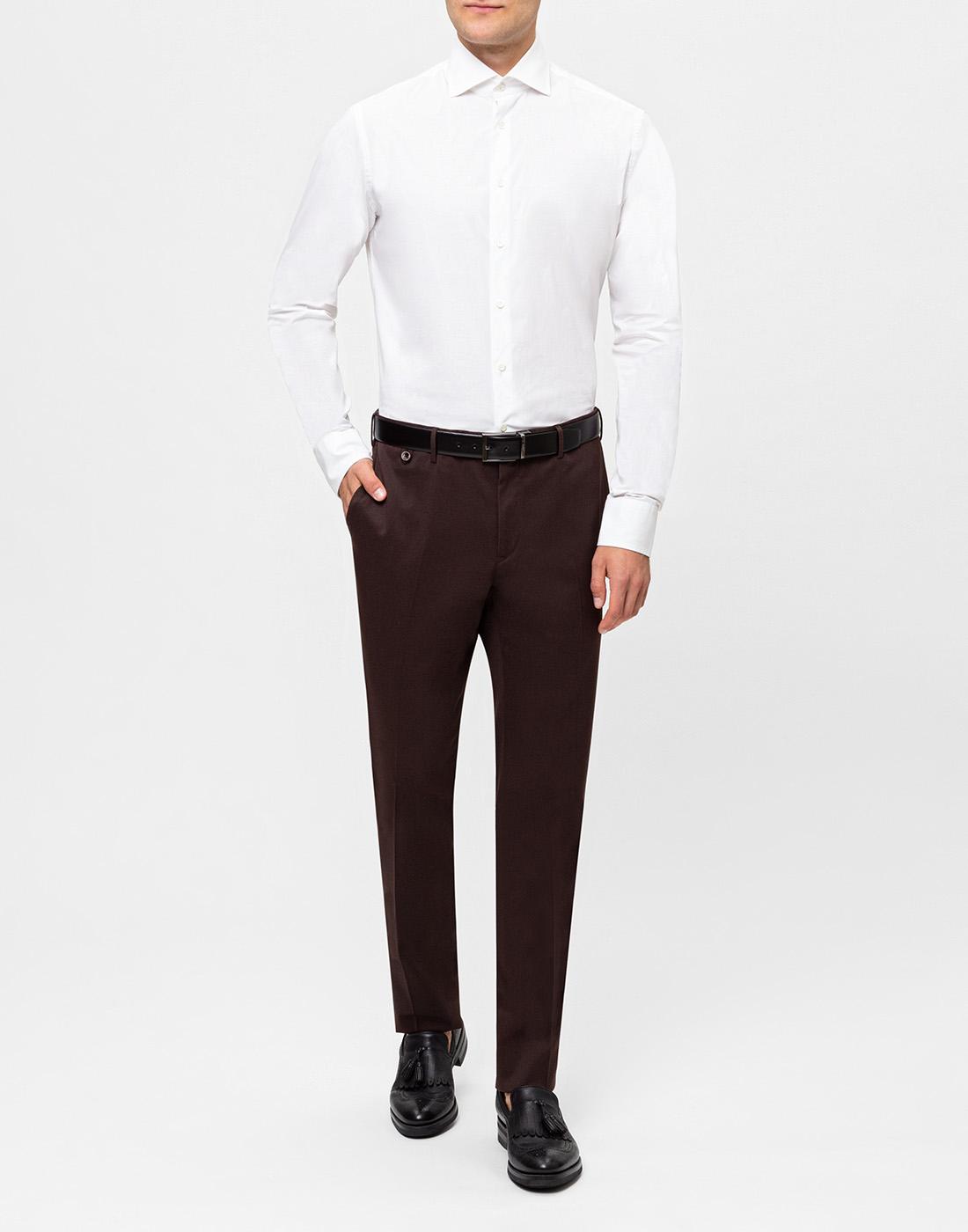 Мужская белая рубашка Van Laack S130090/000-5