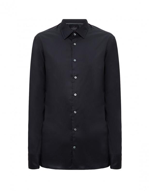 Мужская черная рубашка