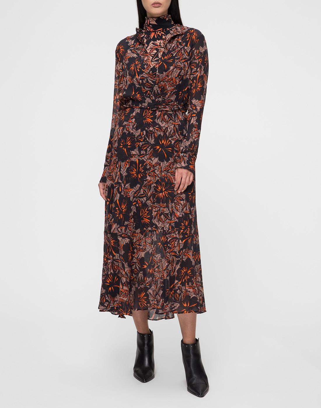 Женское принтованное платье Dorothee Schumacher S549601/049-2