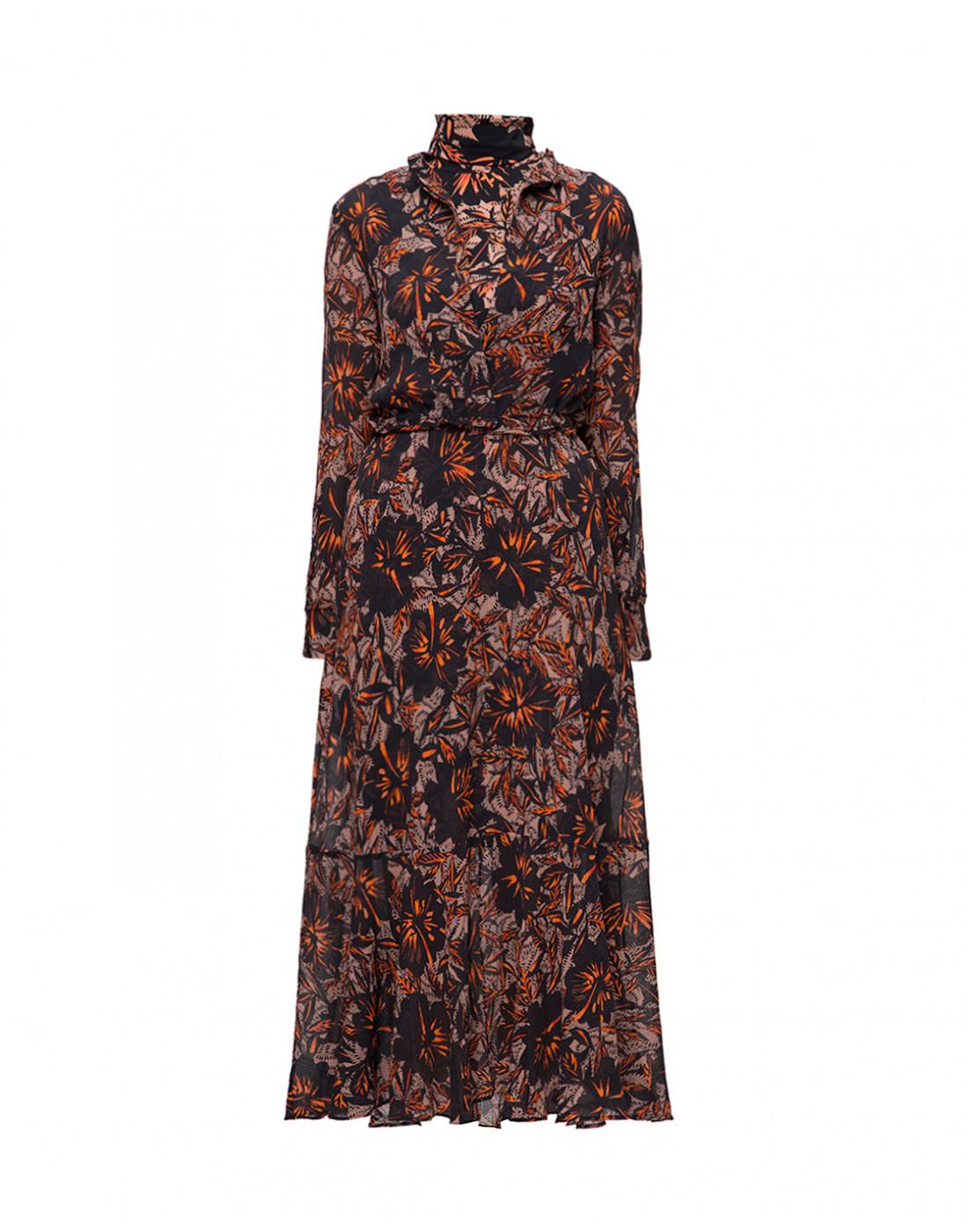 Женское принтованное платье Dorothee Schumacher S549601/049-1