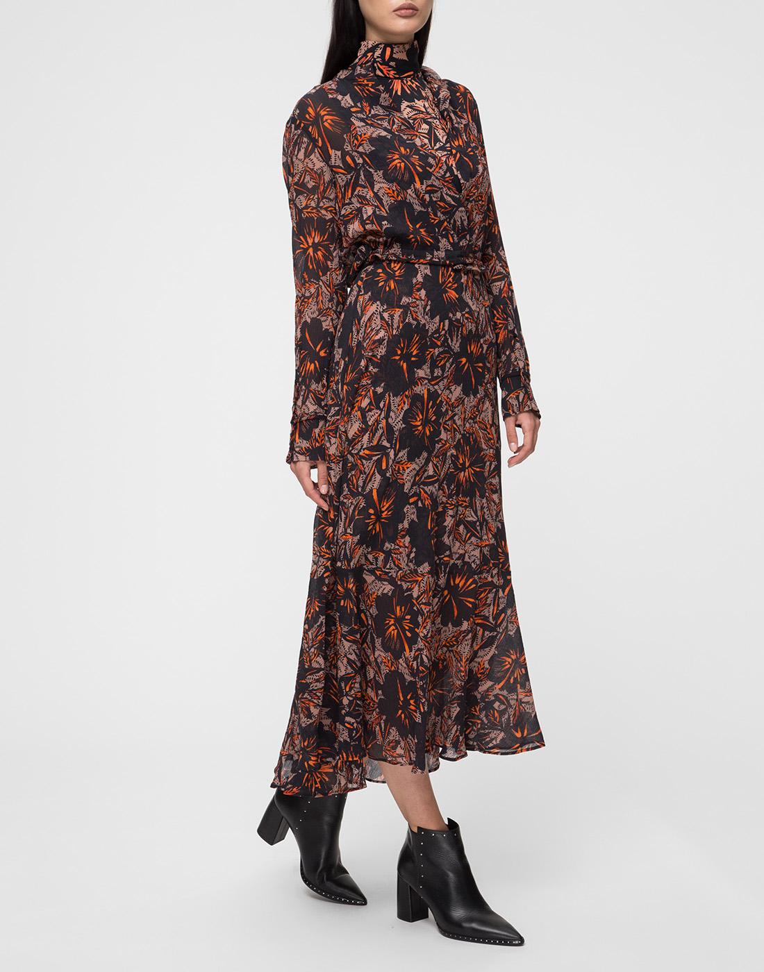 Женское принтованное платье Dorothee Schumacher S549601/049-3
