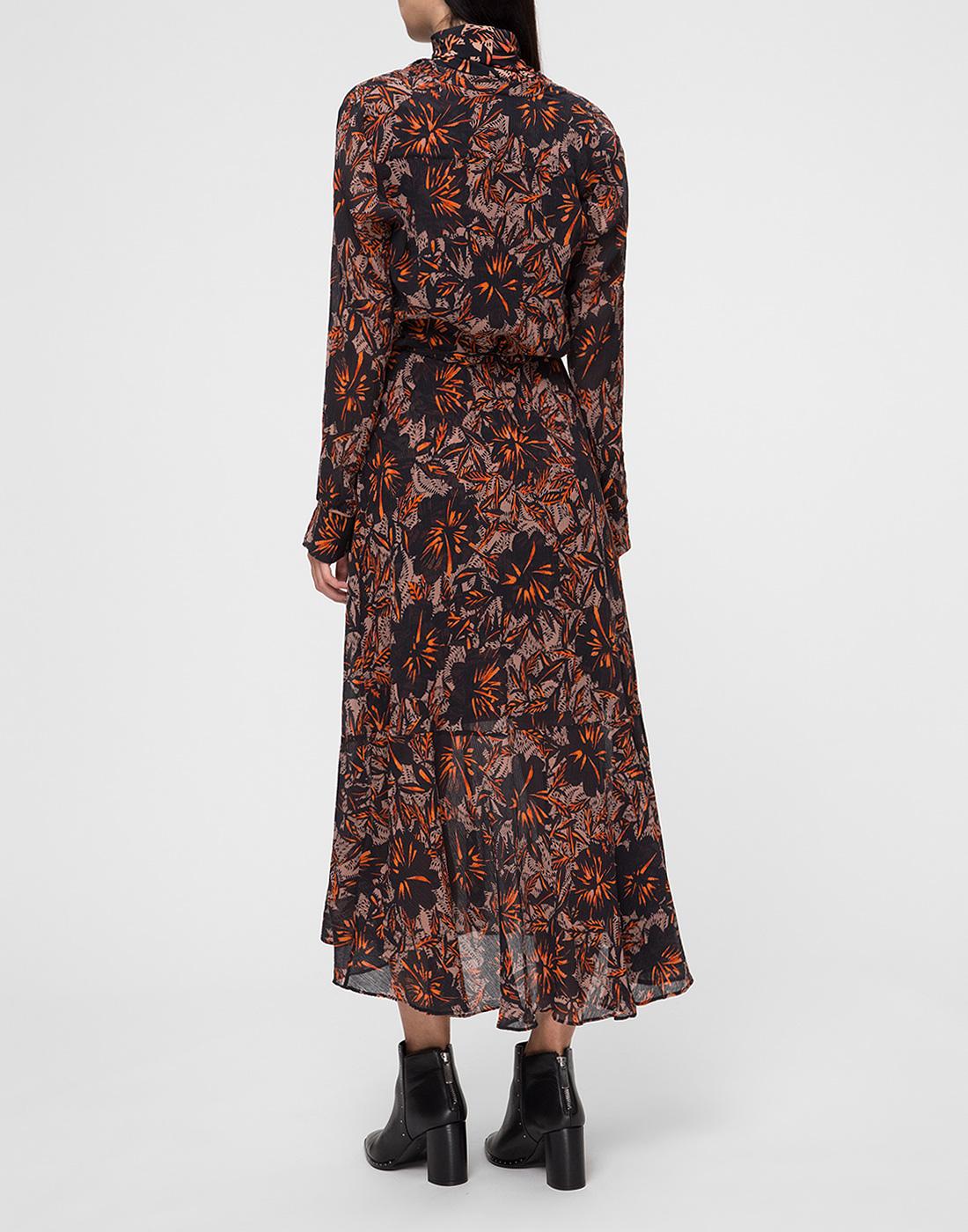 Женское принтованное платье Dorothee Schumacher S549601/049-4