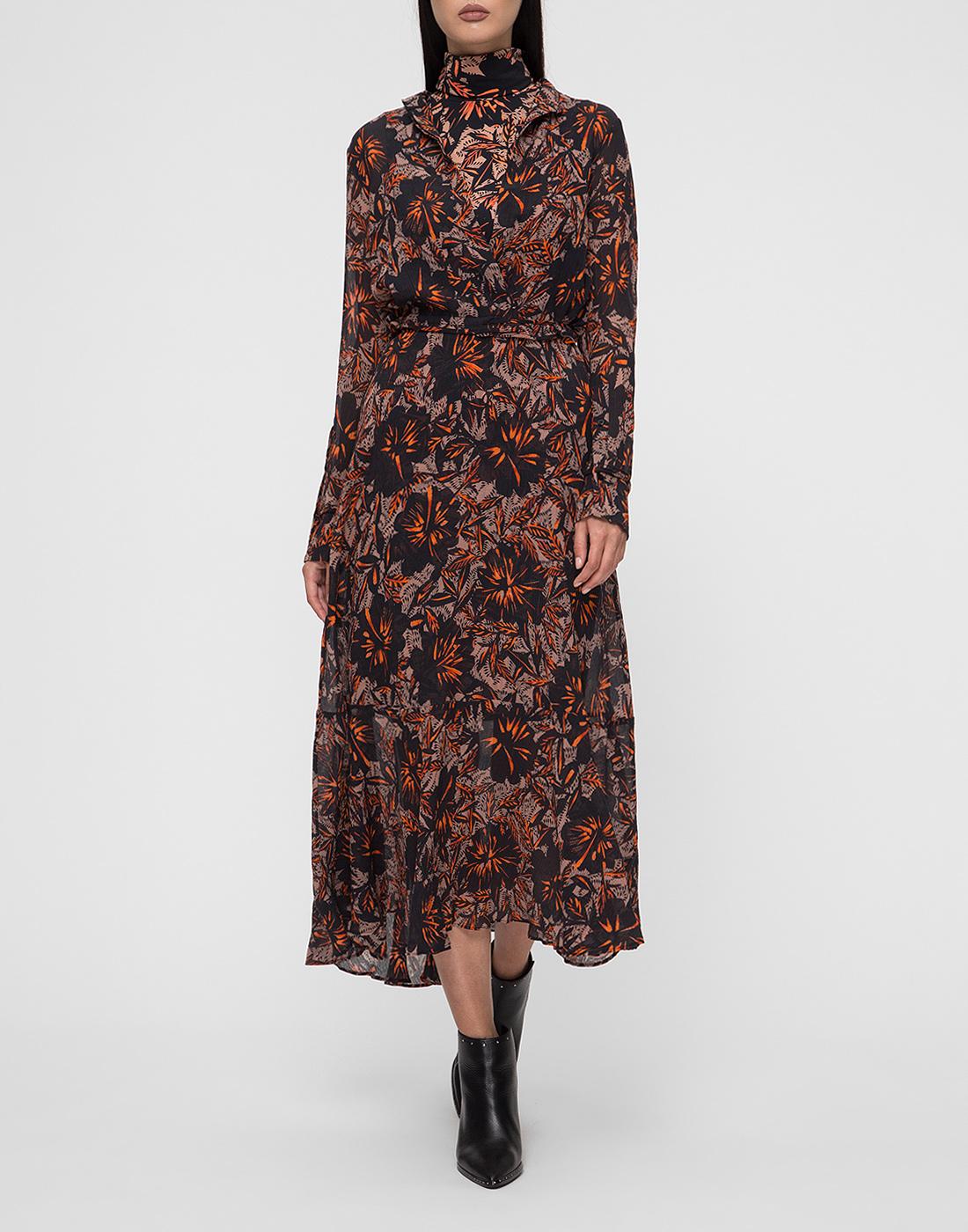 Женское принтованное платье Dorothee Schumacher S549601/049-5