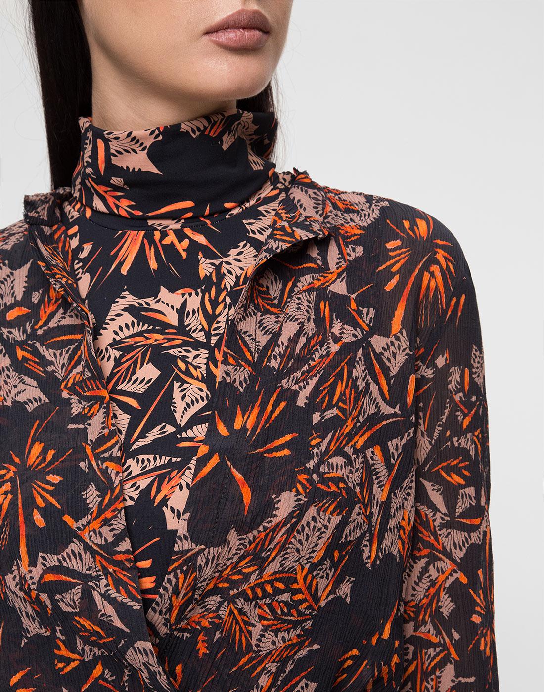 Женское принтованное платье Dorothee Schumacher S549601/049-6
