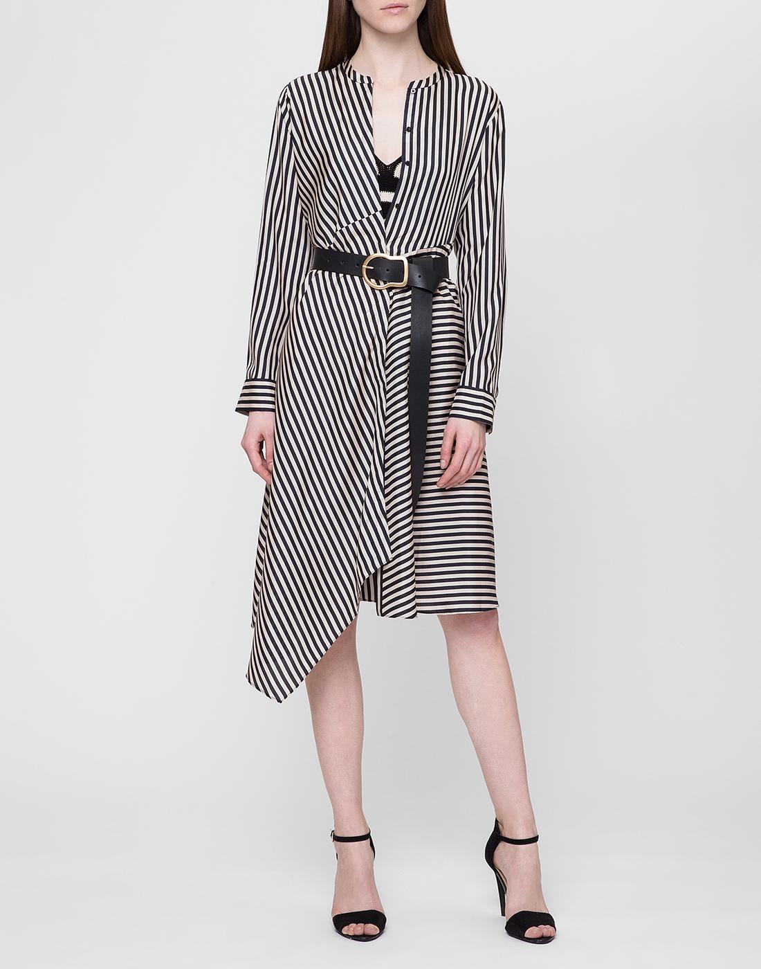 Женское шелковое платье в полоску Dorothee Schumacher S749201/030-5