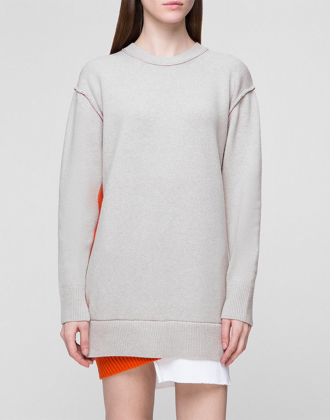Женское бежевое шерстяное платье Dorothee Schumacher S516304/031-2