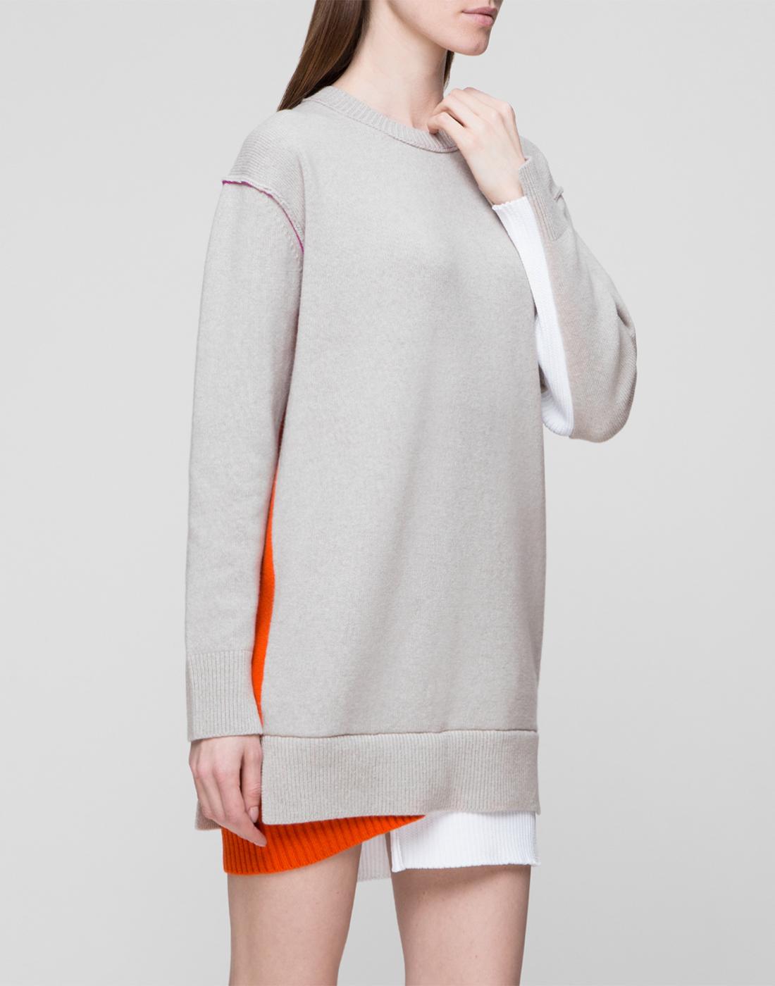 Женское бежевое шерстяное платье Dorothee Schumacher S516304/031-3