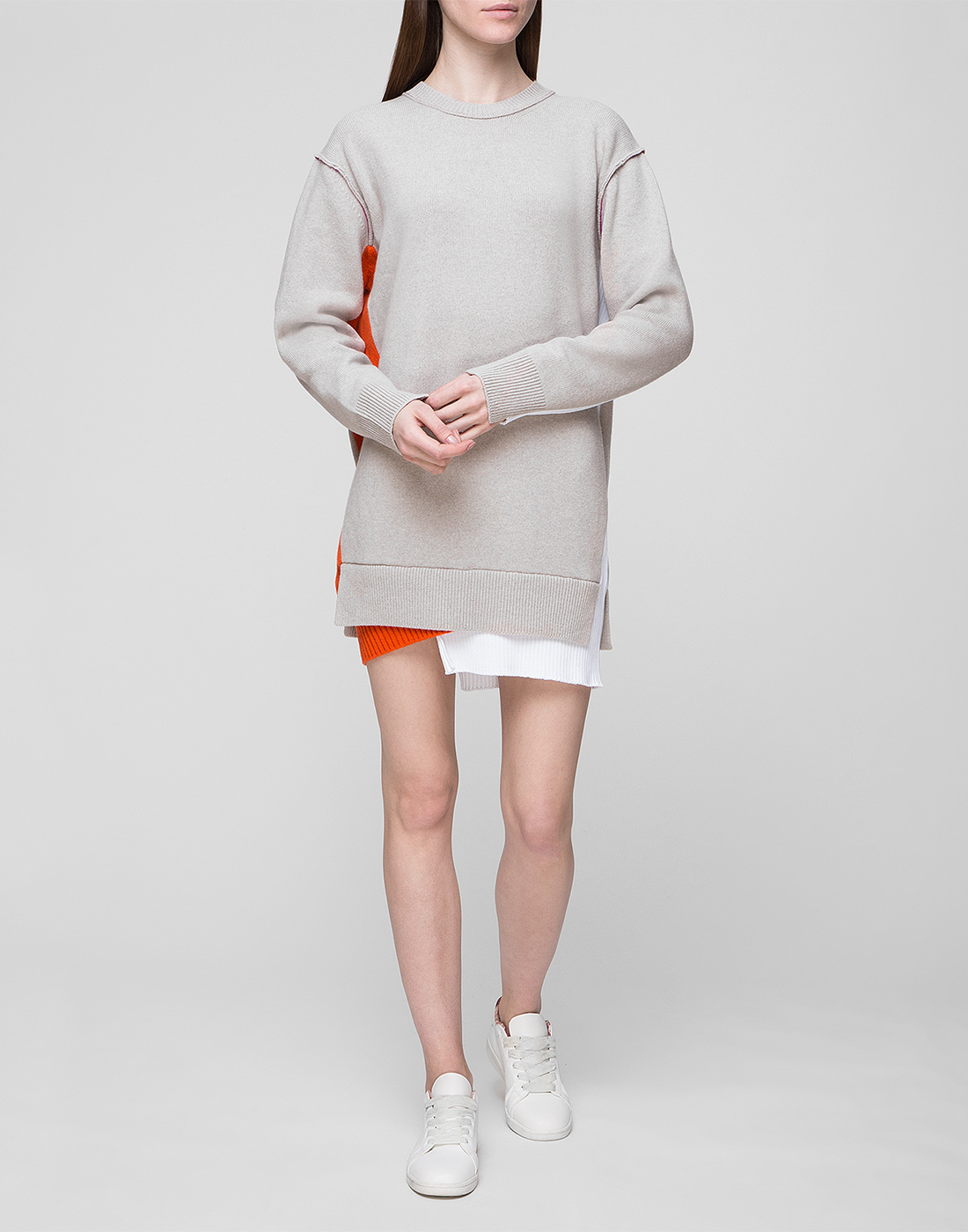 Женское бежевое шерстяное платье Dorothee Schumacher S516304/031-5