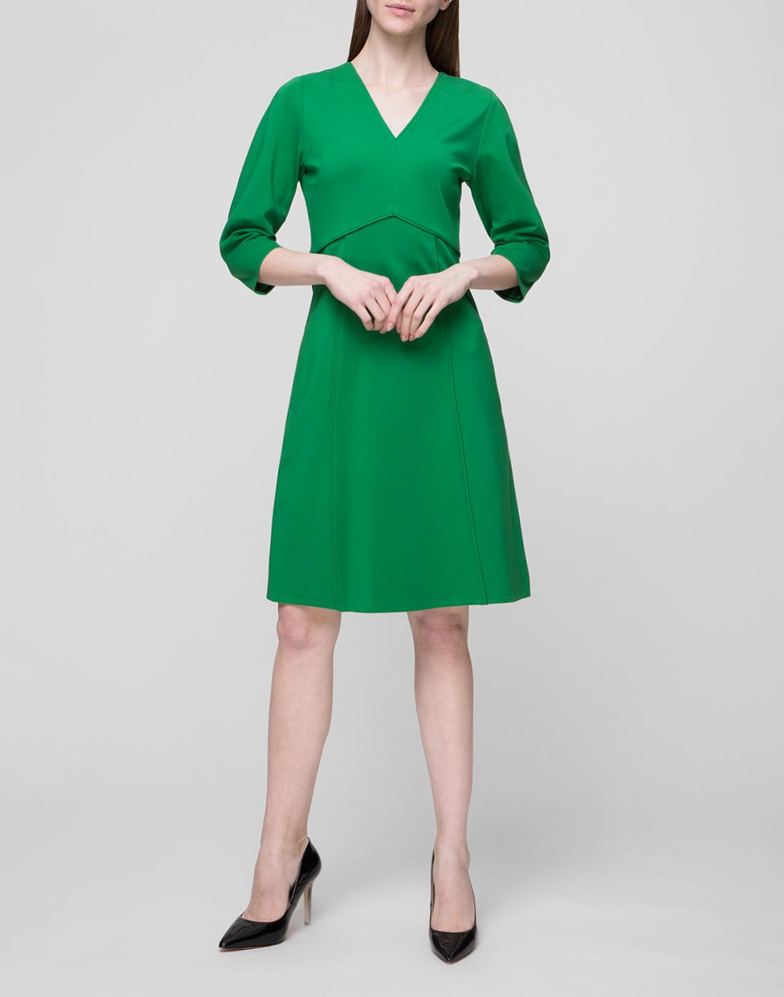 Женское зеленое платье Dorothee Schumacher S548013/562-5
