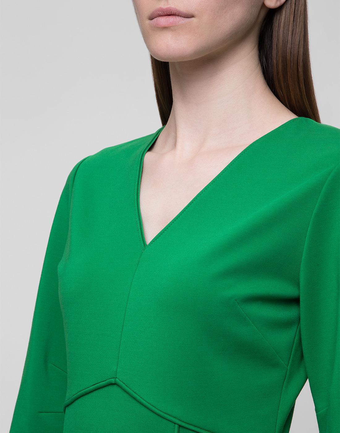 Женское зеленое платье Dorothee Schumacher S548013/562-6
