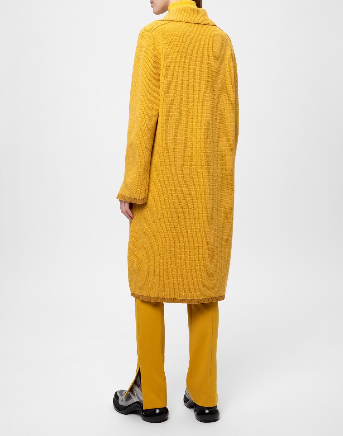 Женское горчичное пальто Dorothee Schumacher S616204/237-4