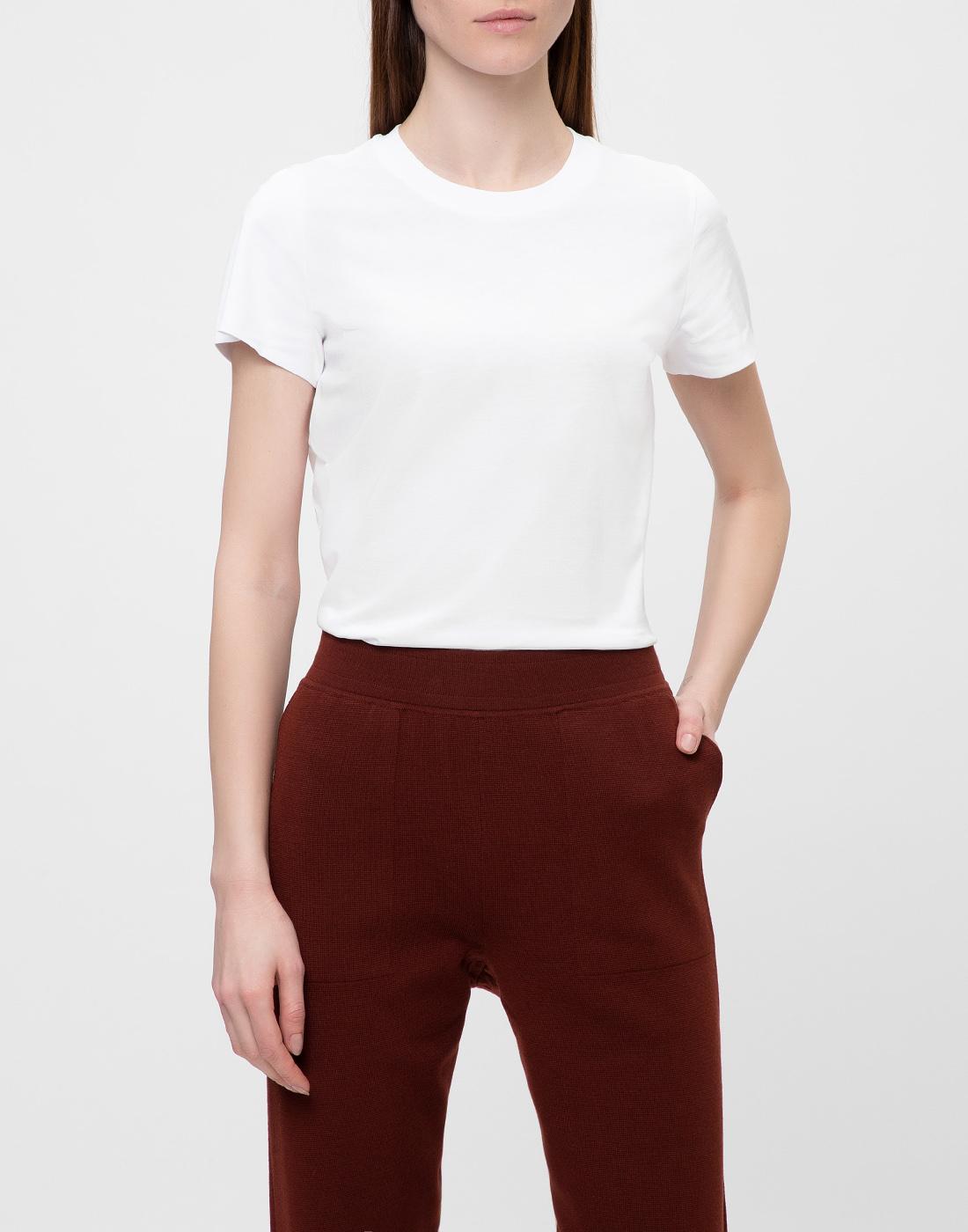 Женская белая футболка Dorothee Schumacher S623001/100-2